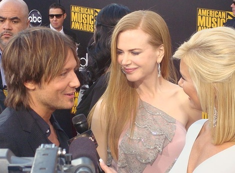 Nicole Kidman and Keith Urban in 2009.