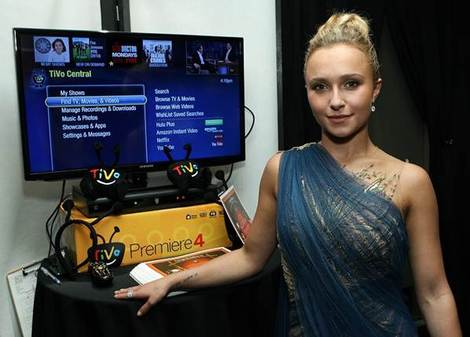 Hayden Panettiere looks glam at the Emergen-C Gift Lounge Backstage at the Nokia Theatre in celebration of the 64th Primetime Emmy® Awards.