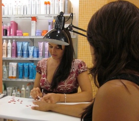 Celebrity manicurist Kimmie Kyees