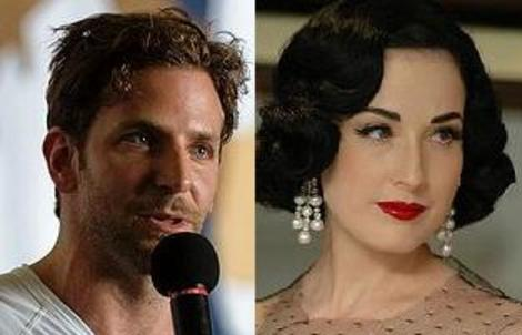 Bradley Cooper, Dita Von Teese