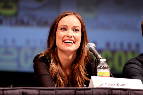 Olivia Wilde got up and close and personal during a monologue about her sex life recently.