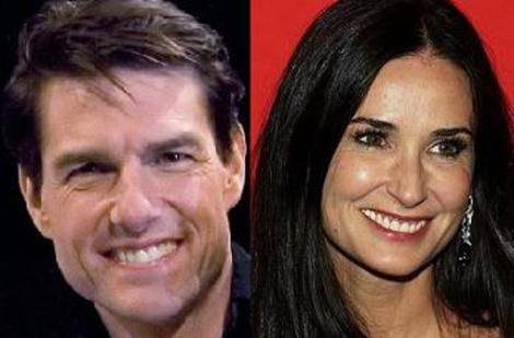 Tom Cruise, Demi Moore