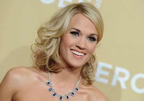 As usual, Carrie Underwood was a red carpet stunner.