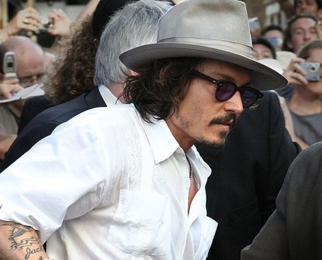 "Johnny Depp has a ""Jack"" tattoo on his arm, in honor of his son."