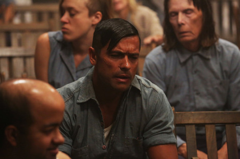 "Mark Consuelos as Spivey on ""American Horror Story: Asylum."""