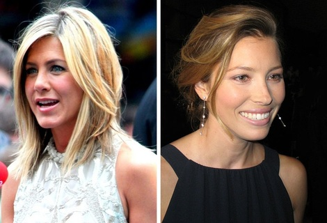 Jennifer Aniston and Jessica Biel prepare for the holidays.