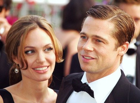 (Brad Pitt and Angelina Jolie)