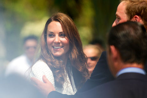 Duchess Catherine, aka Kate Middleton, is thought to be expecting a baby girl after a comment she made this week in Grimsby.