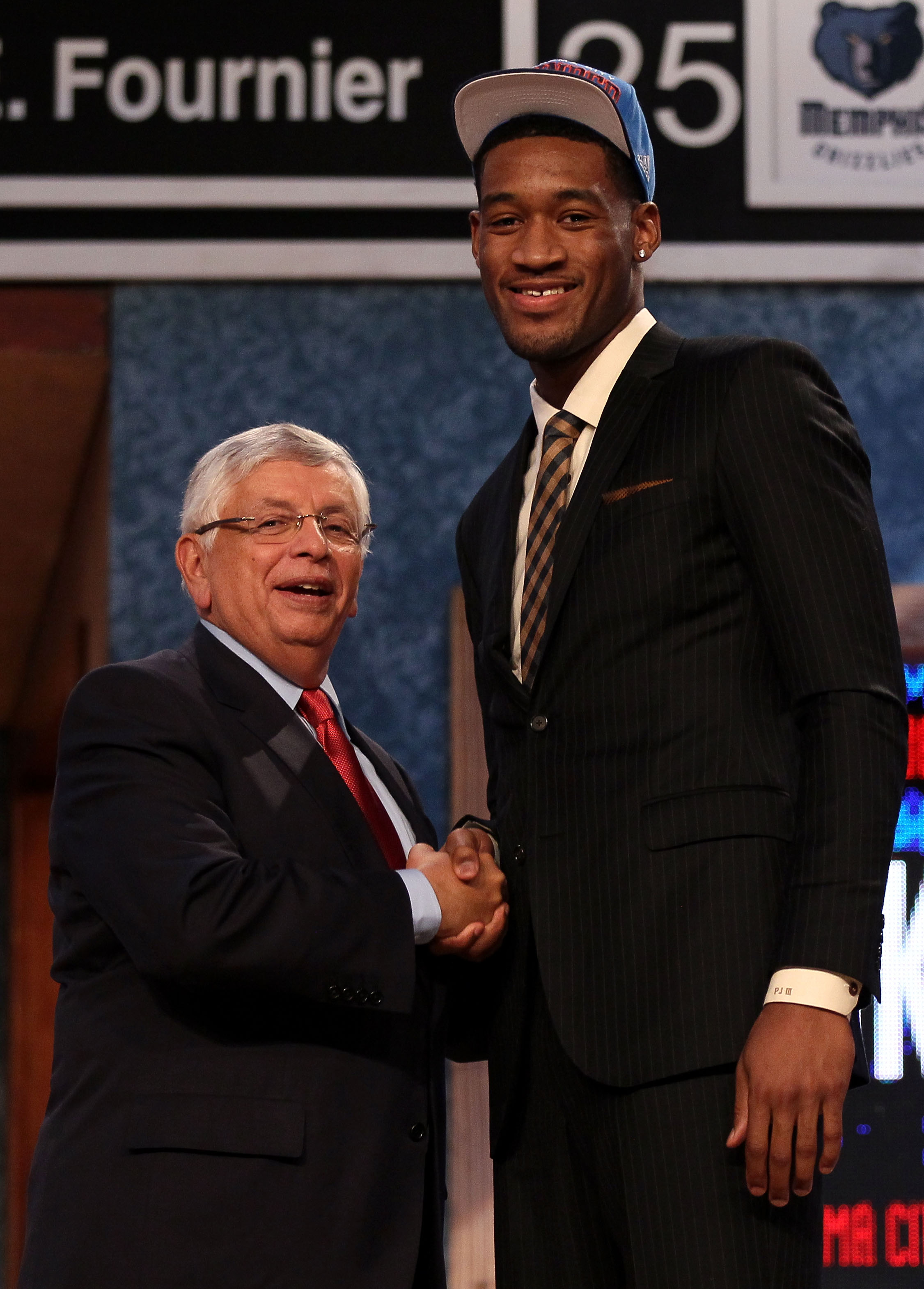 Perry Jones III was the 28th pick of Thursday's NBA draft. (Getty Images)