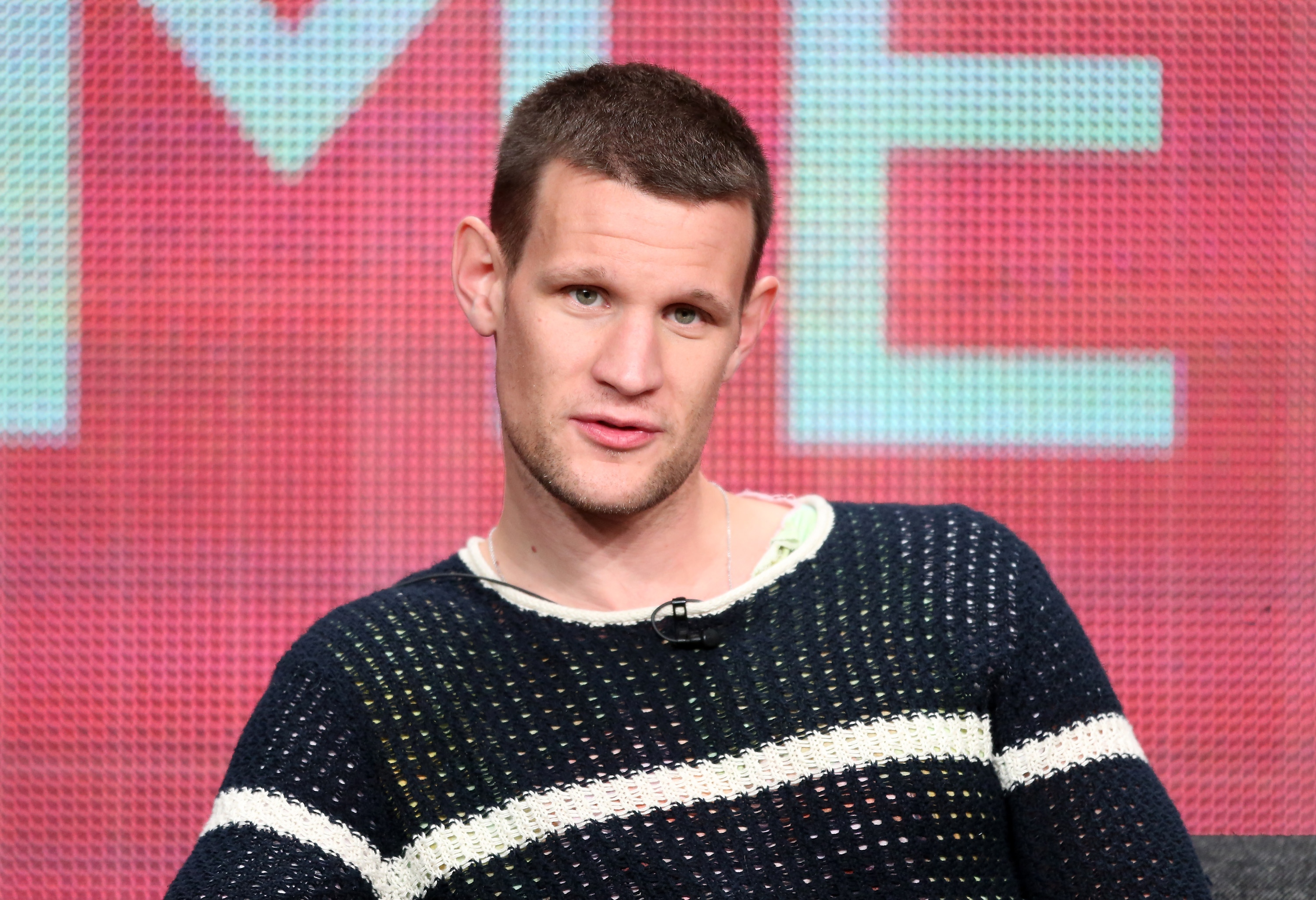 "Matt Smith at the ""Doctor Who"" panel of the TCA Press Tour. (Frederick M. Brown/Getty Images)"