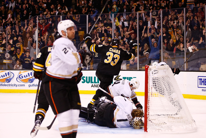 Anaheim Ducks v Boston Bruins