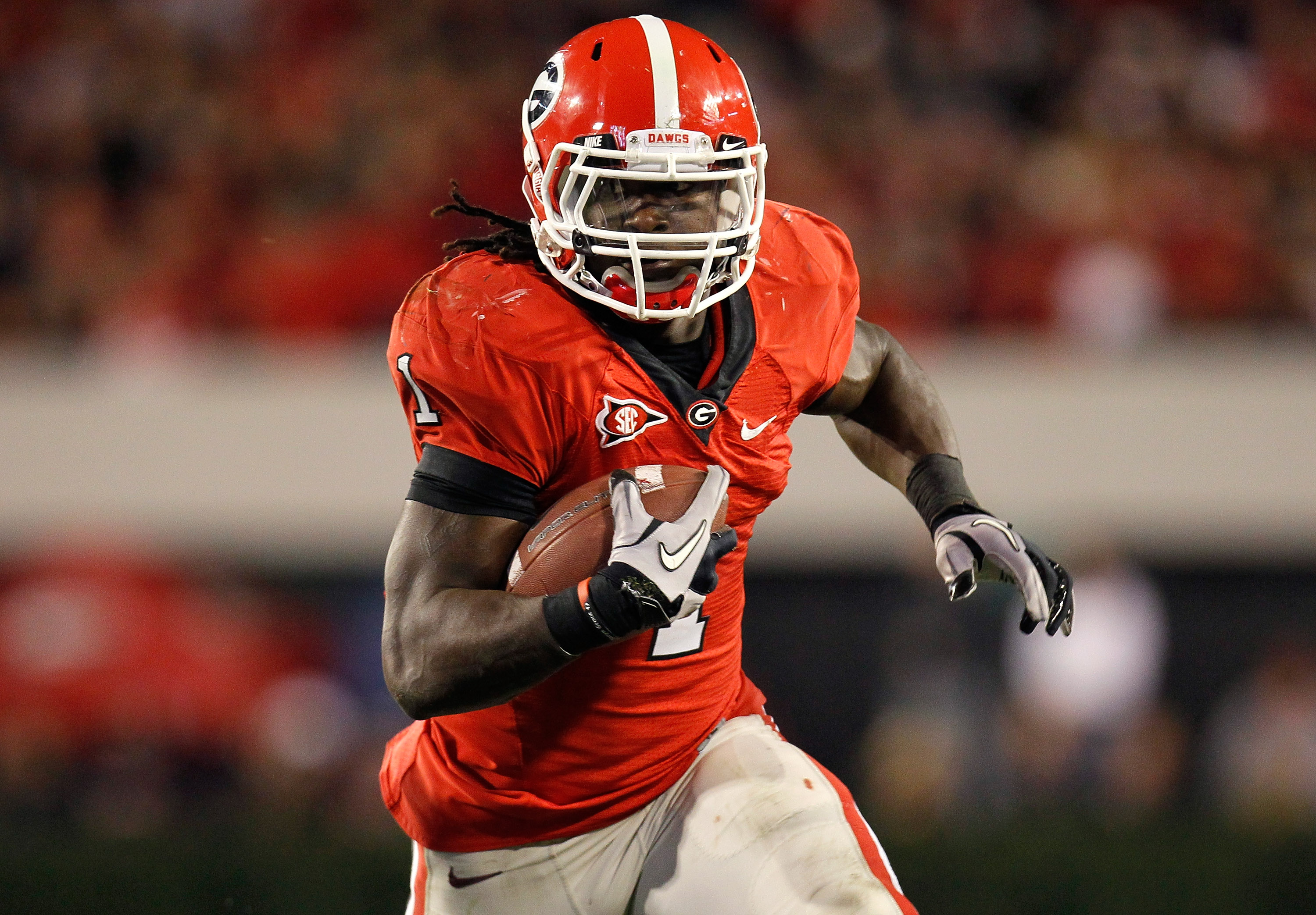 Isaiah Crowell's next stop is at Alabama State, a FCS school. (Getty Images)