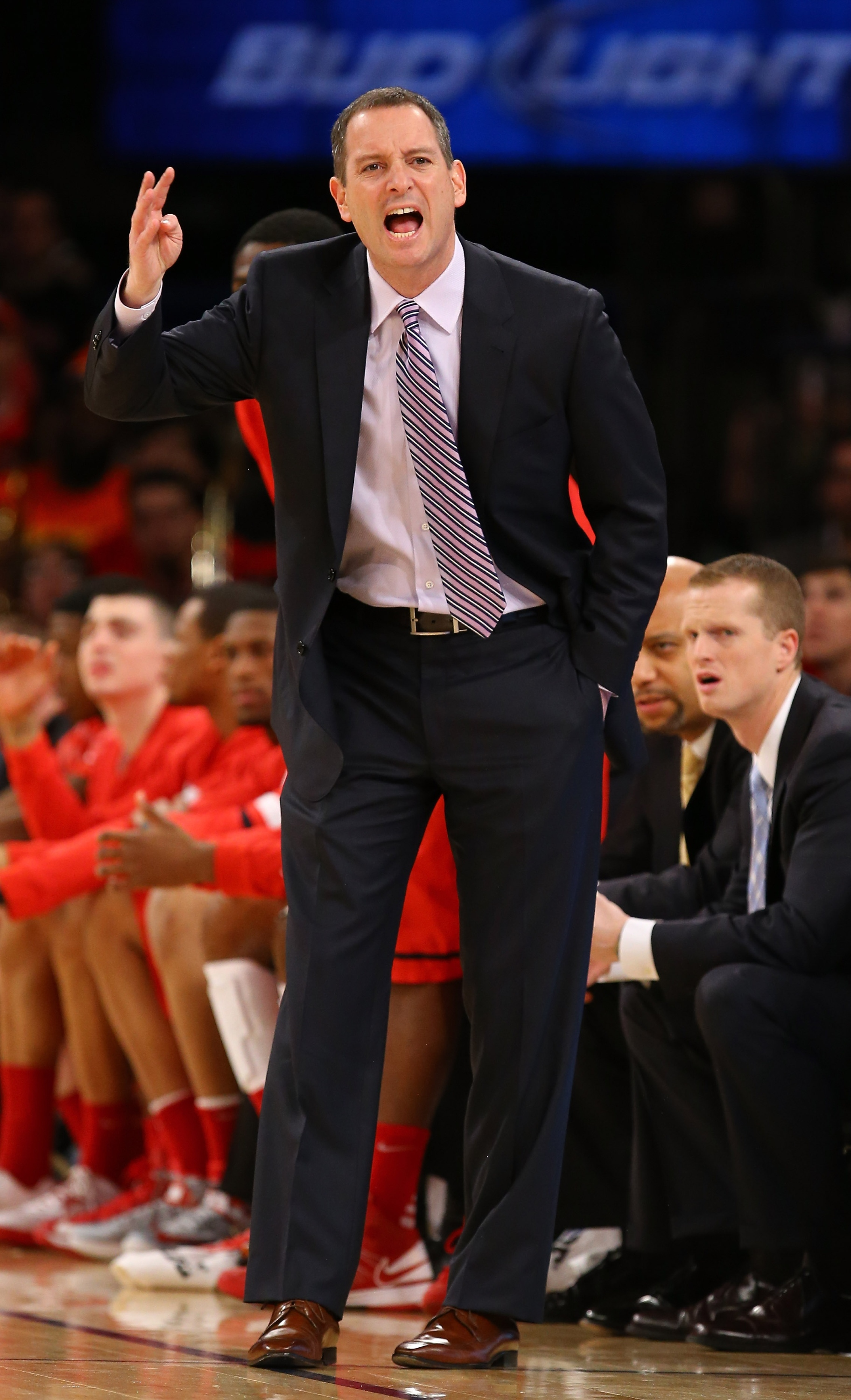 The Scarlet Knights have gone 44-51 under coach Mike Rice. (Getty Images)