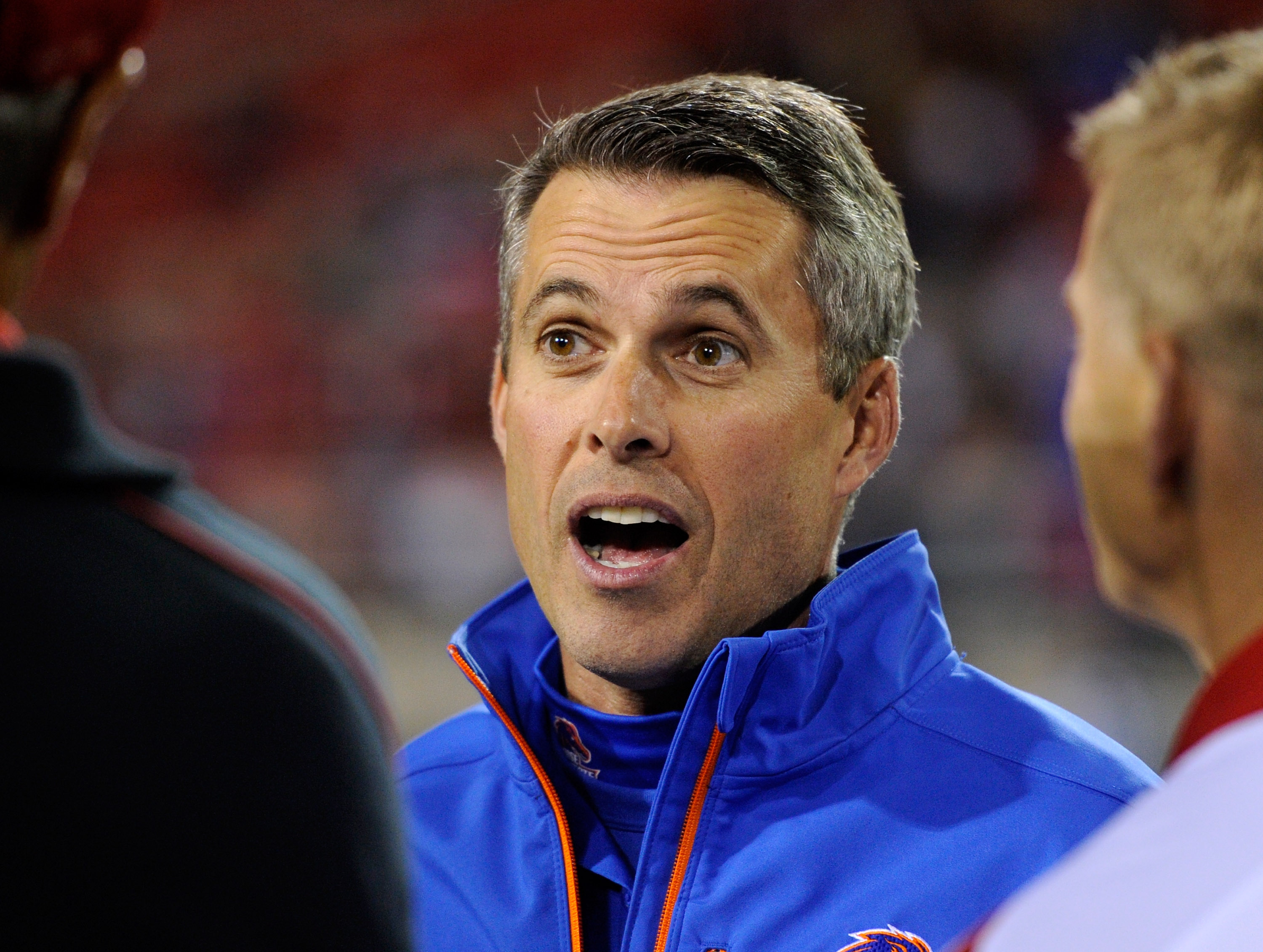 Chris Petersen has a 50-3 record at Boise State the past four years. (Getty Images)
