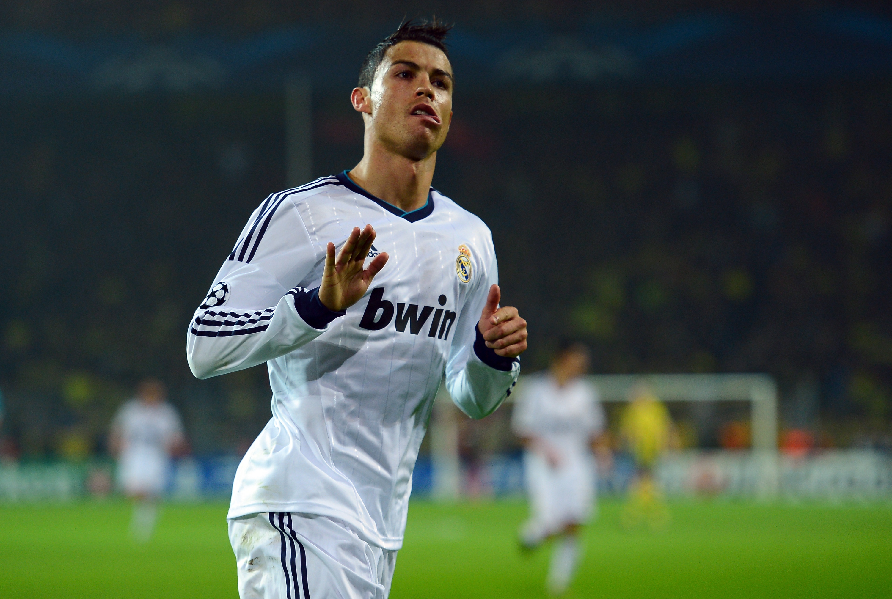 Real Madrid paid Manchester United $131 million for Cristiano Ronaldo's services. (Getty Images)