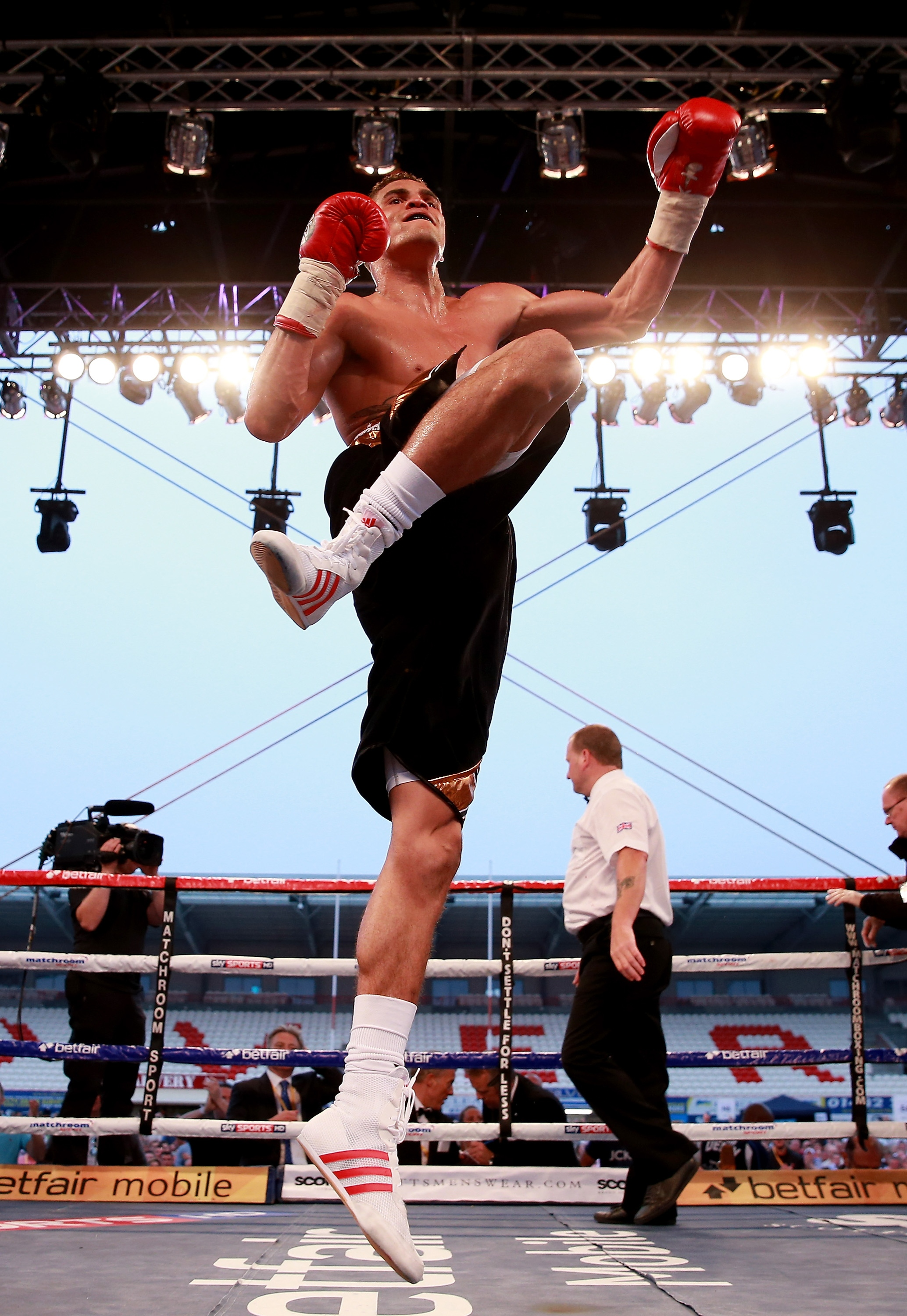 Boxing at Craven Park in Hull