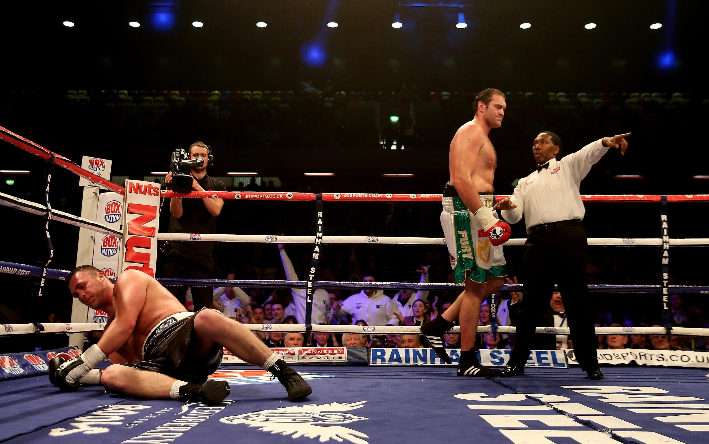 Championship Boxing event at the Copper Box Arena