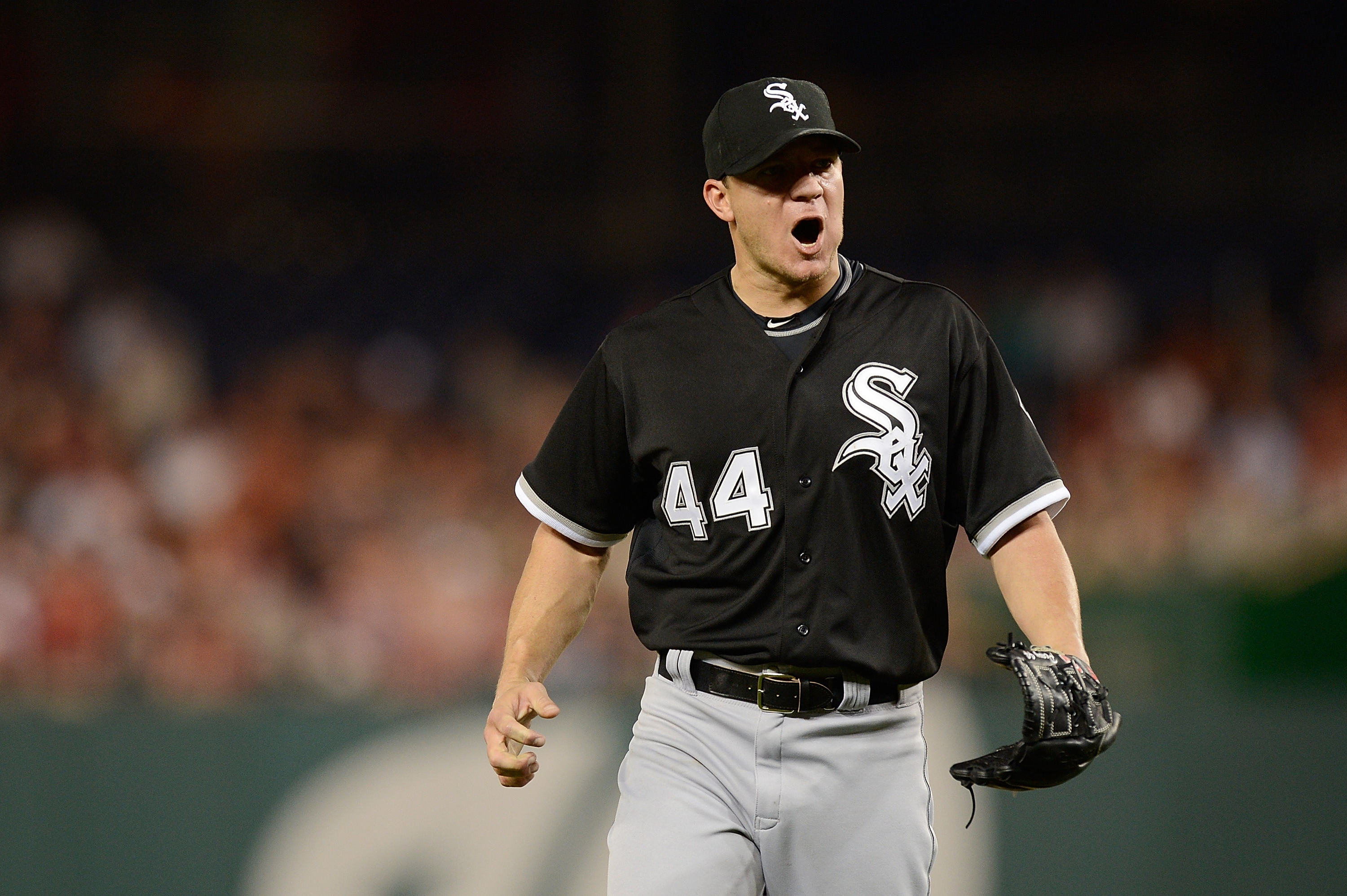 With so few starters available, the White Sox could get quite a haul for Jake Peavy. (Getty Images)