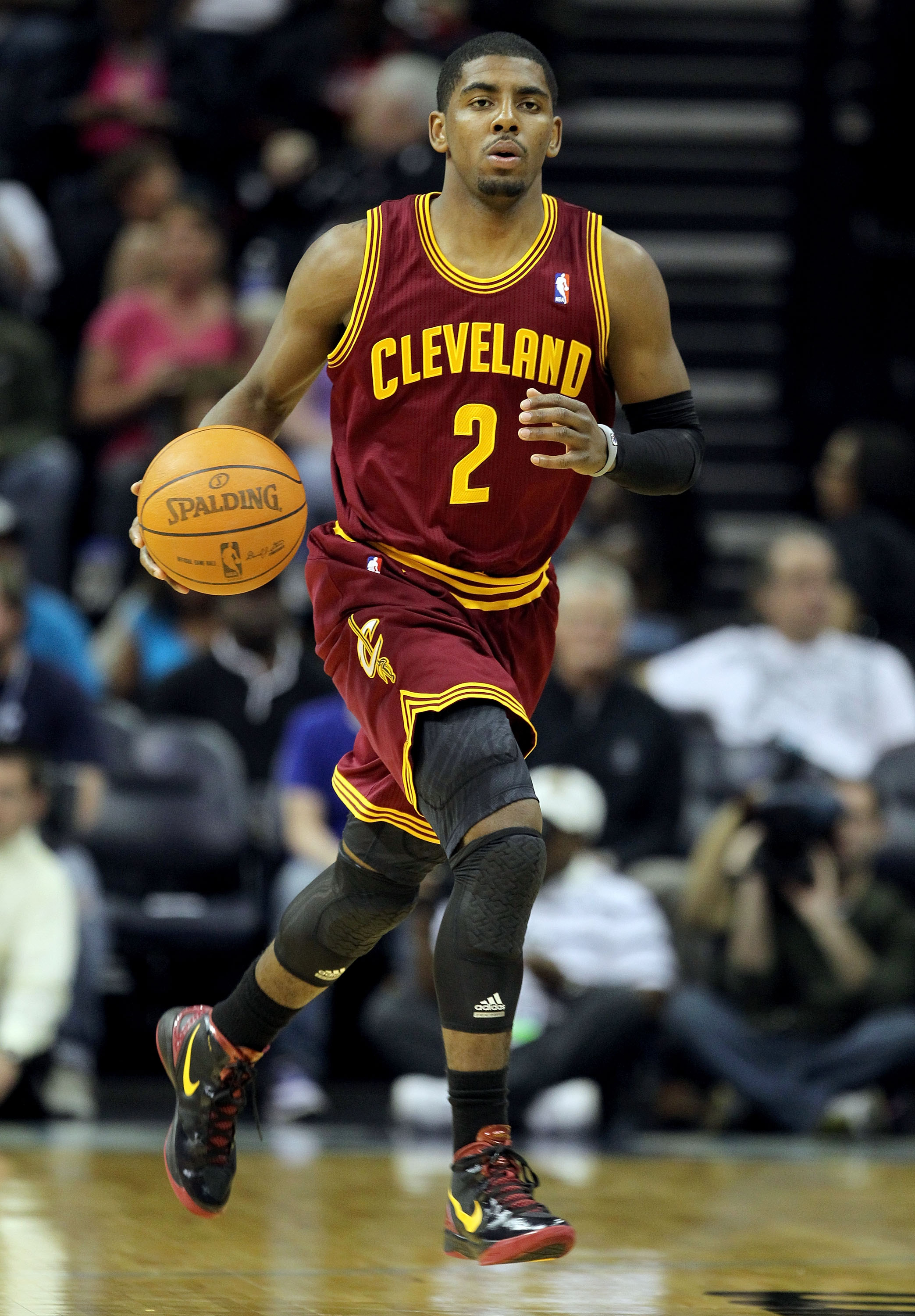 Cavs point guard Kyrie Irving won last season's Rookie of the Year award. (Getty Images)