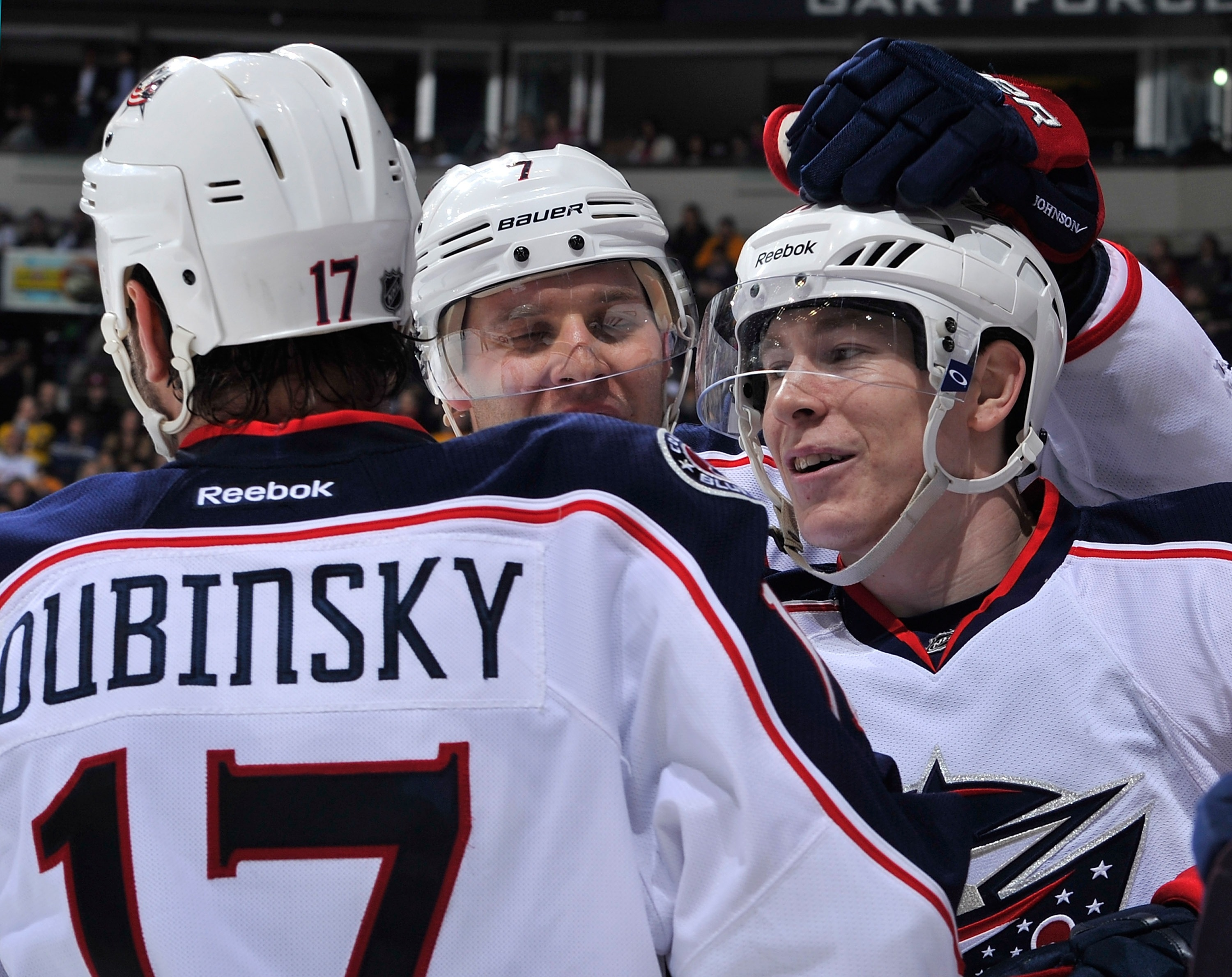 Dubinsky and Calvert: Ride the Gabby wave. (Getty)