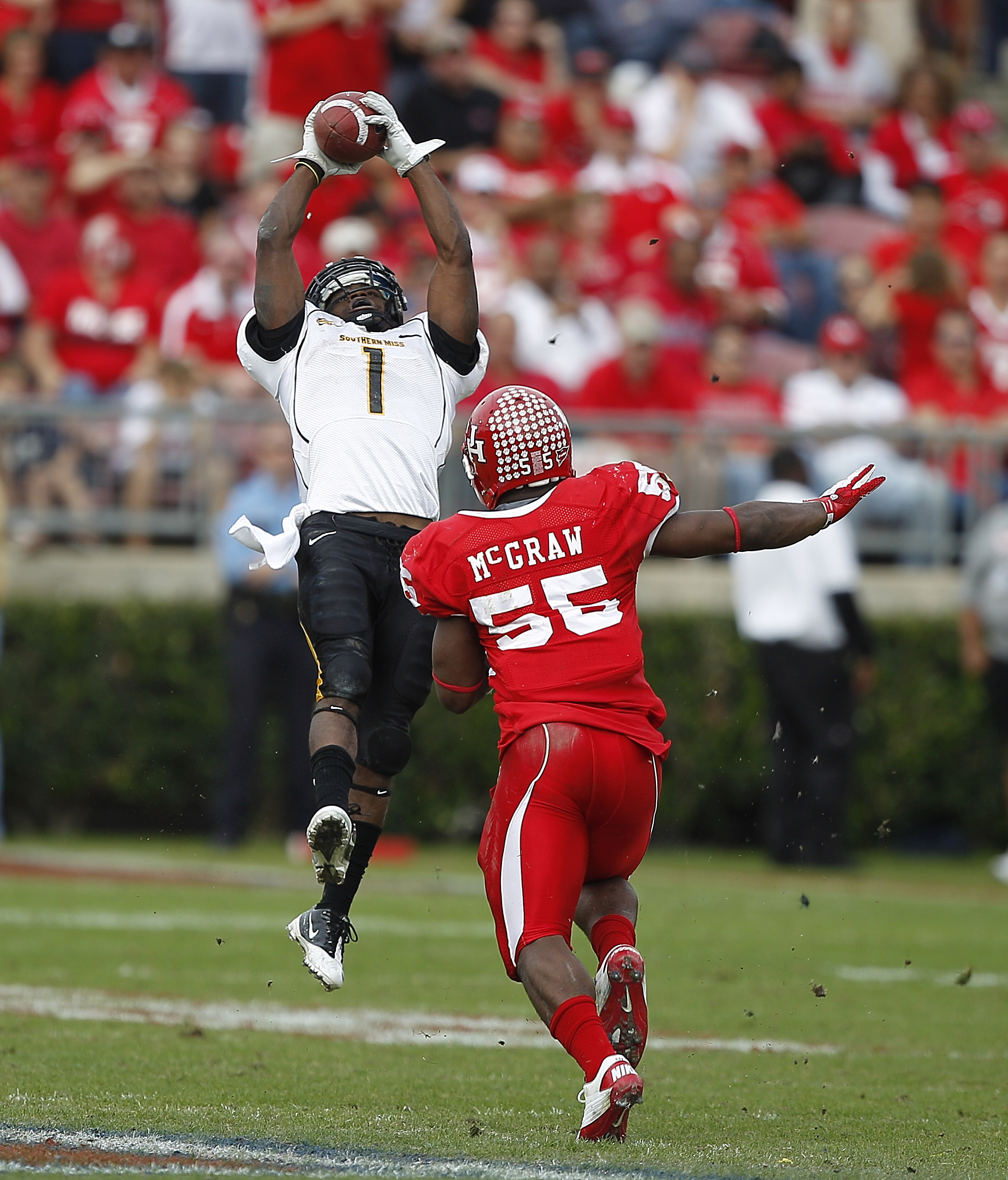 WR Tracy Lampley should be Southern Miss' top playmaker this season. (Getty Images)