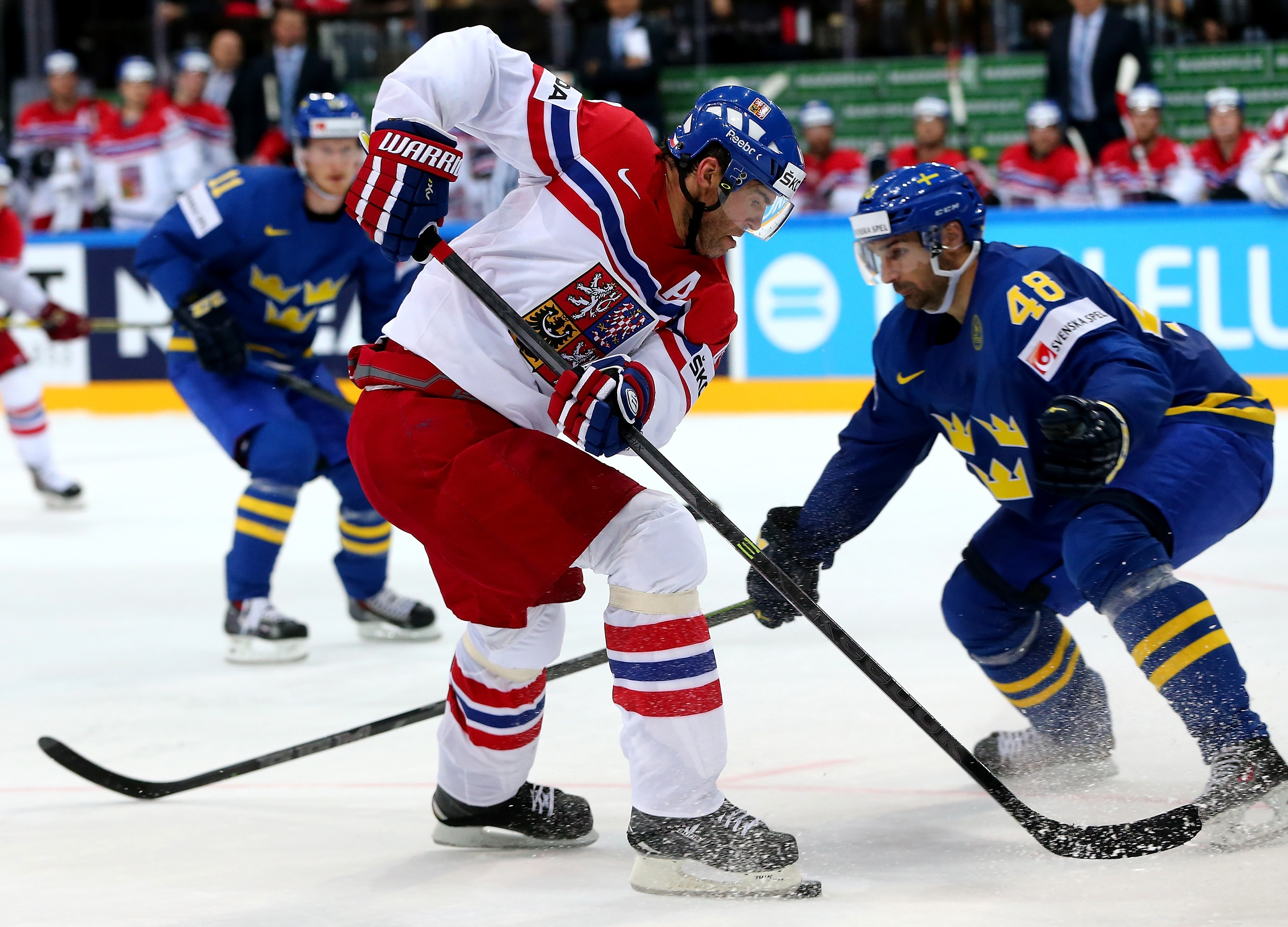 hockey czech republic sweden online dating Team usa edged out a 3-2 win against the czech republic sending them to the semi-final of the 2018 iihf ice hockey world championship.