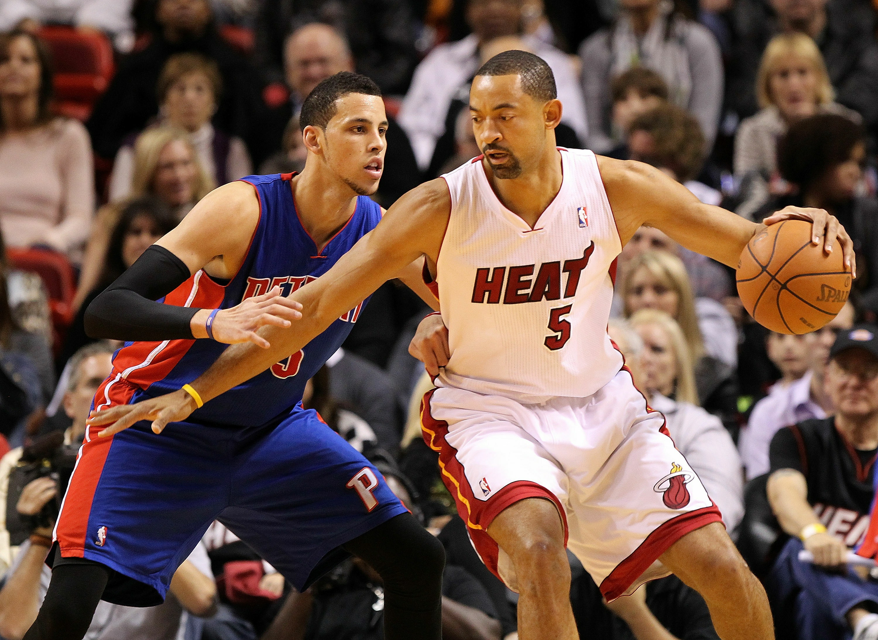 Juwan Howard could return to the Miami Heat. (Getty)