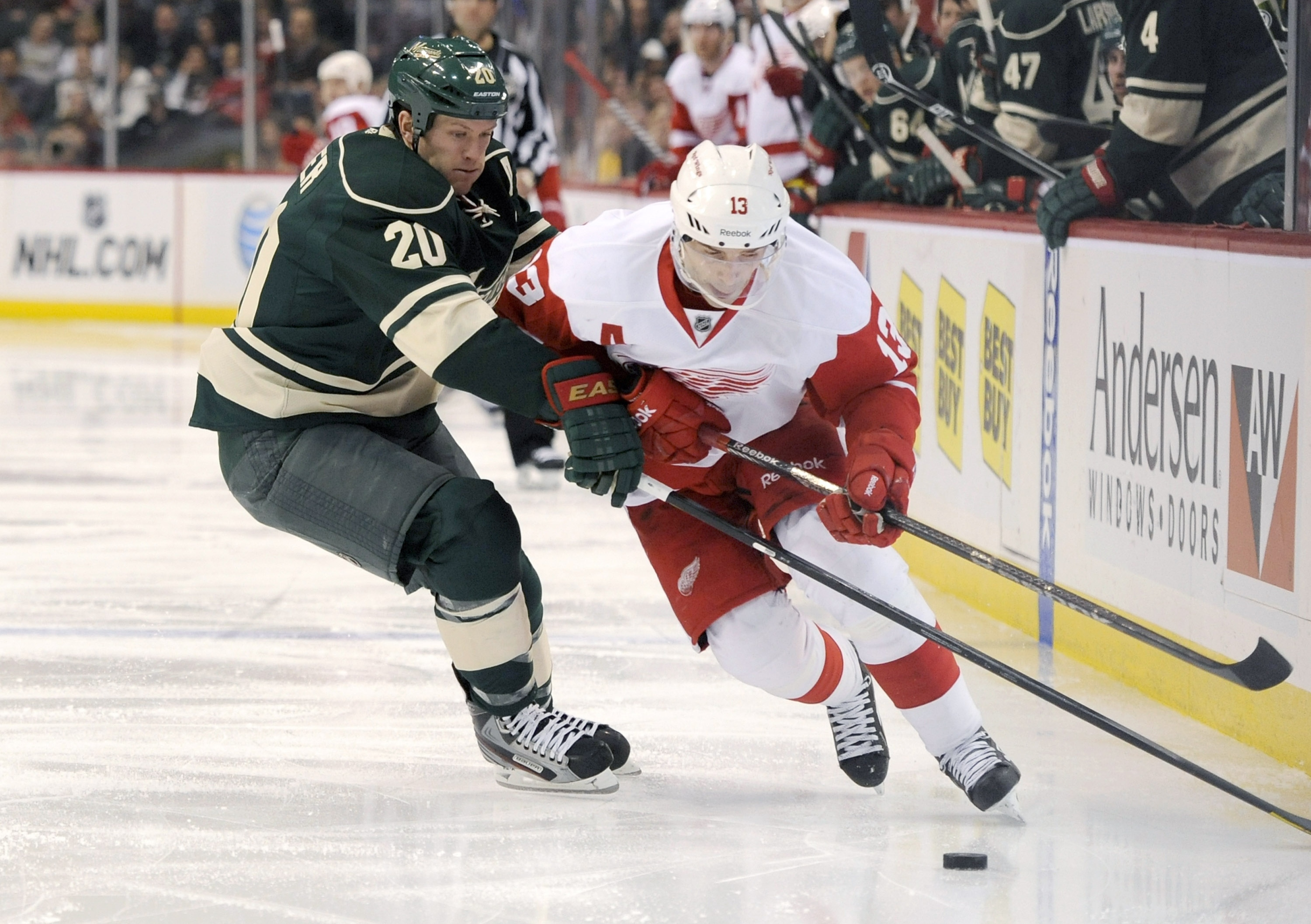 Detroit Red Wings v Minnesota Wild