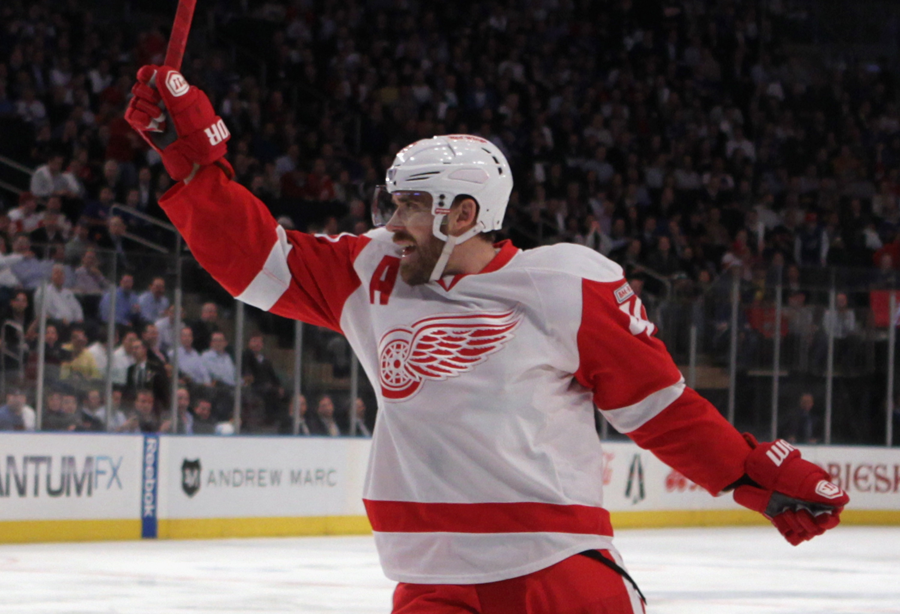 Wings team rep Henrik Zetterberg