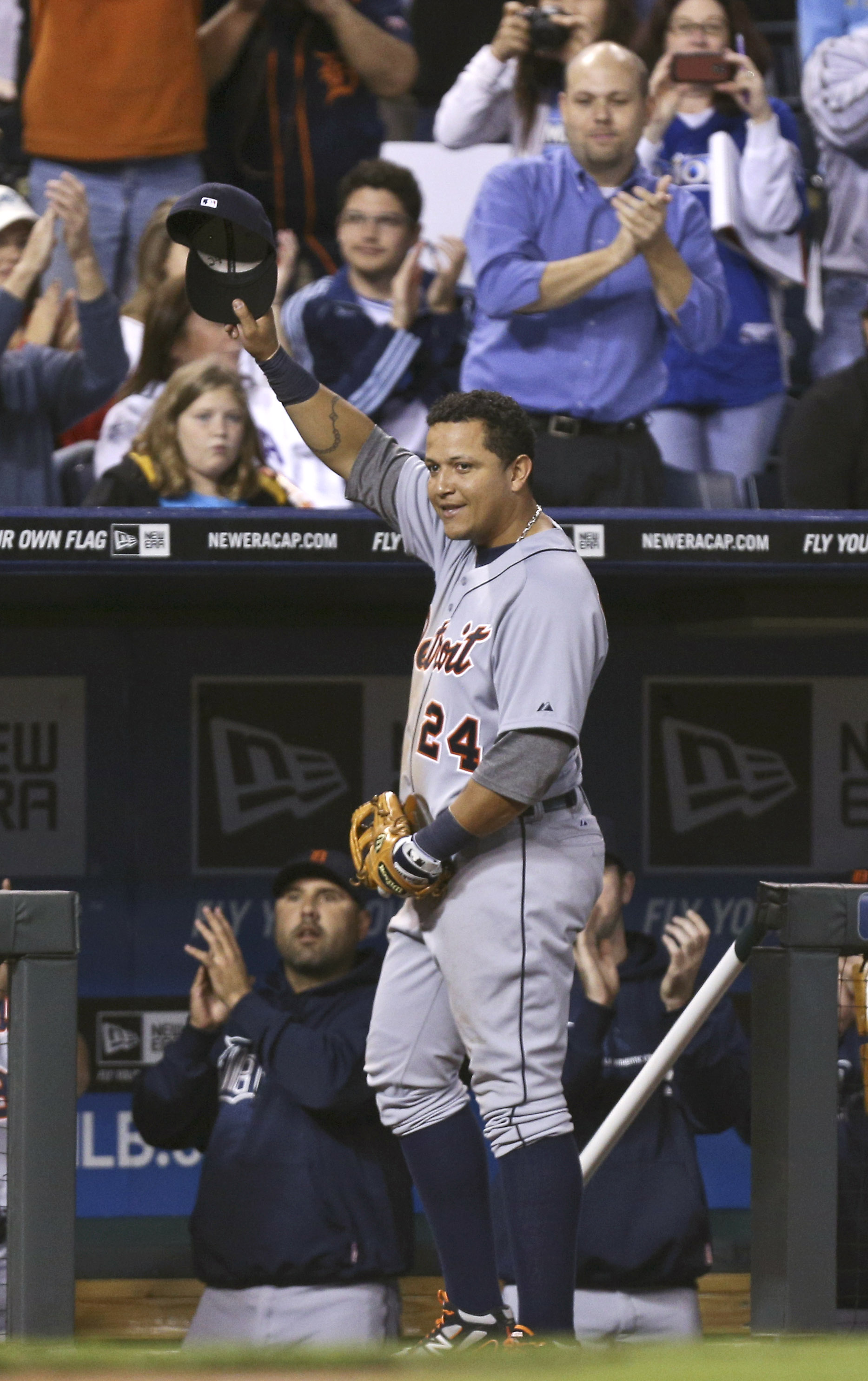 Miguel Cabrera's dream season of 2012 included a Triple Crown and AL MVP award. (Getty Images)