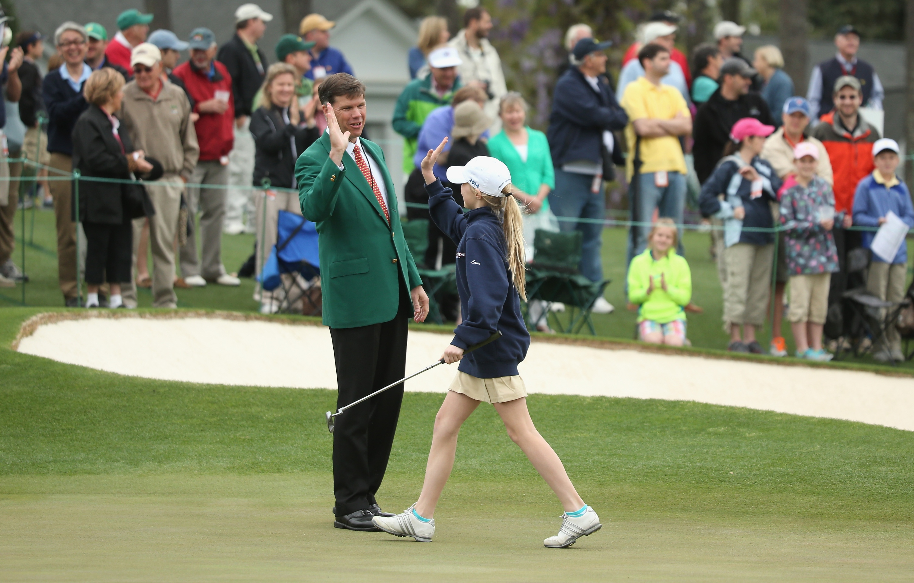 Drive, Chip and Putt Championship at Augusta National Golf Club