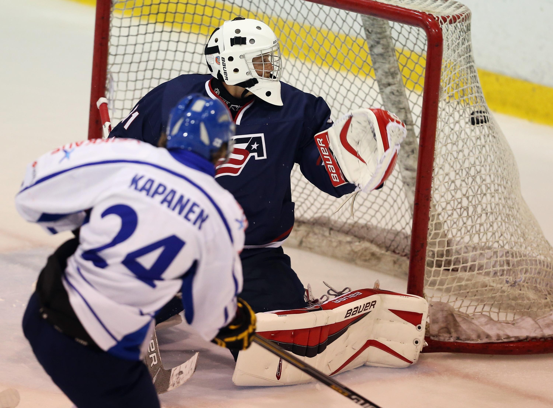Finland v USA Blue - 2014 USA Hockey Junior Evaluation Camp