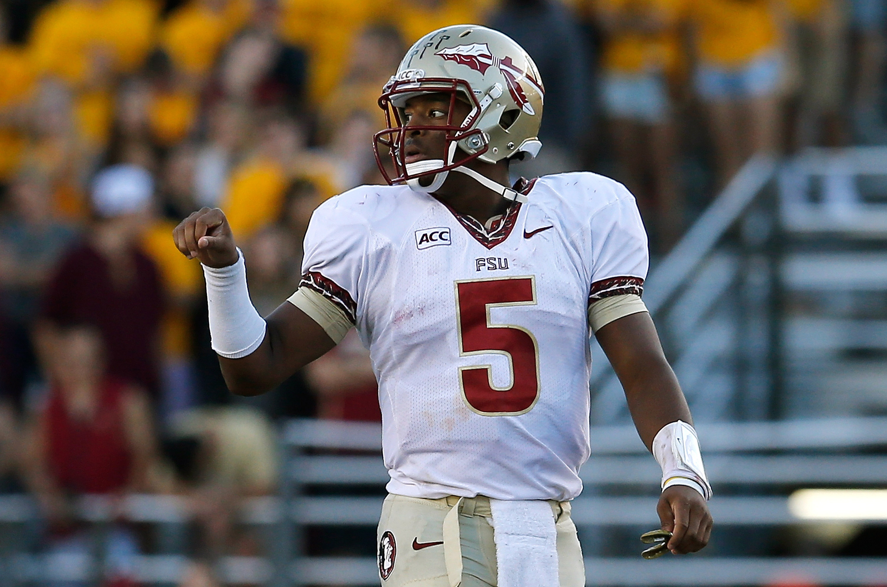 Jameis Winston can do quite a bit more than run the football. (Getty)