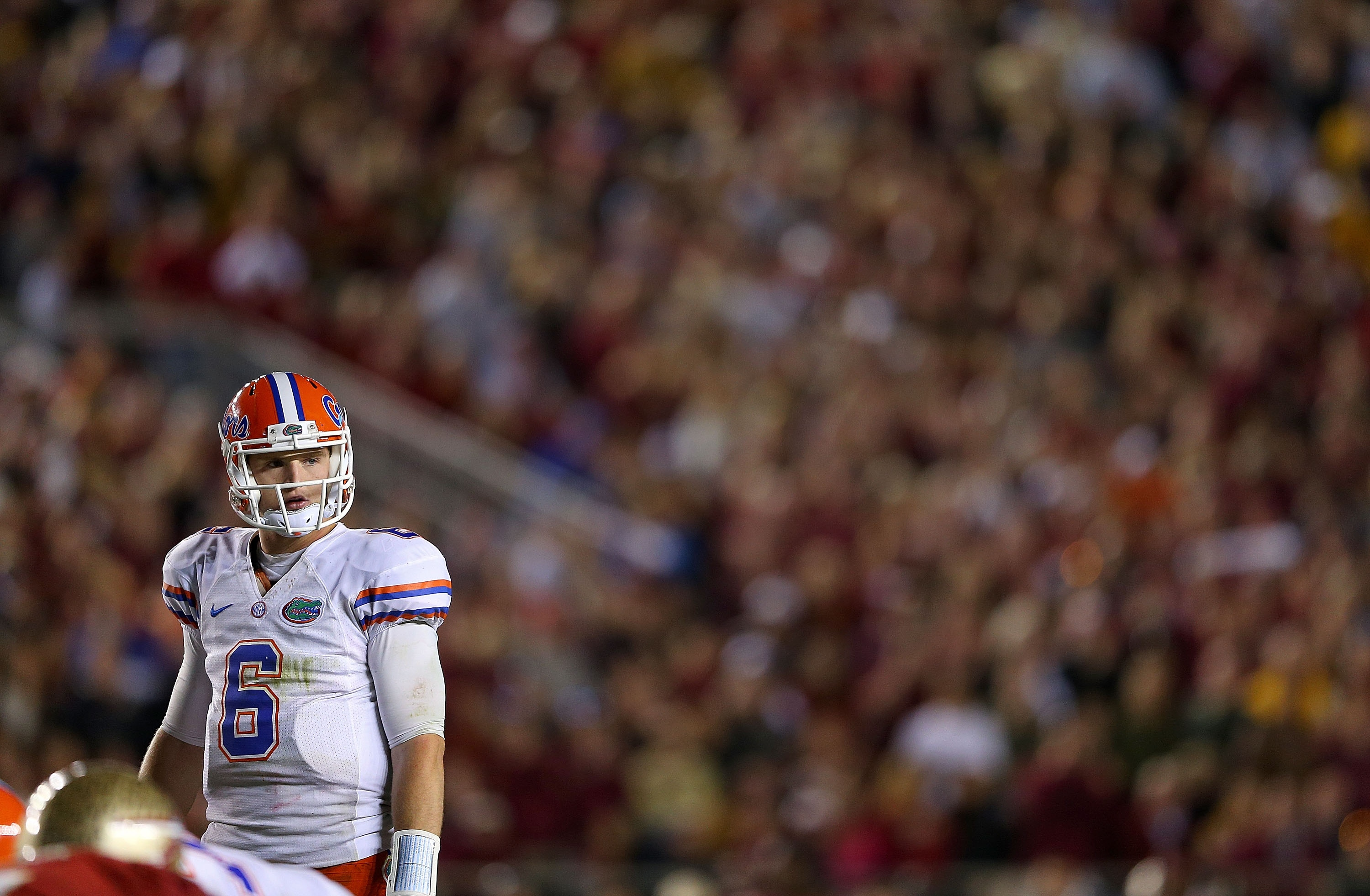 Jeff Driskel came into the season having thrown just 16 passes at Florida. (Getty Images)
