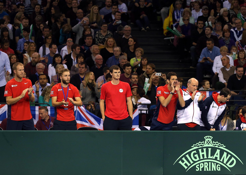 GB v USA - Davis Cup: Day 3