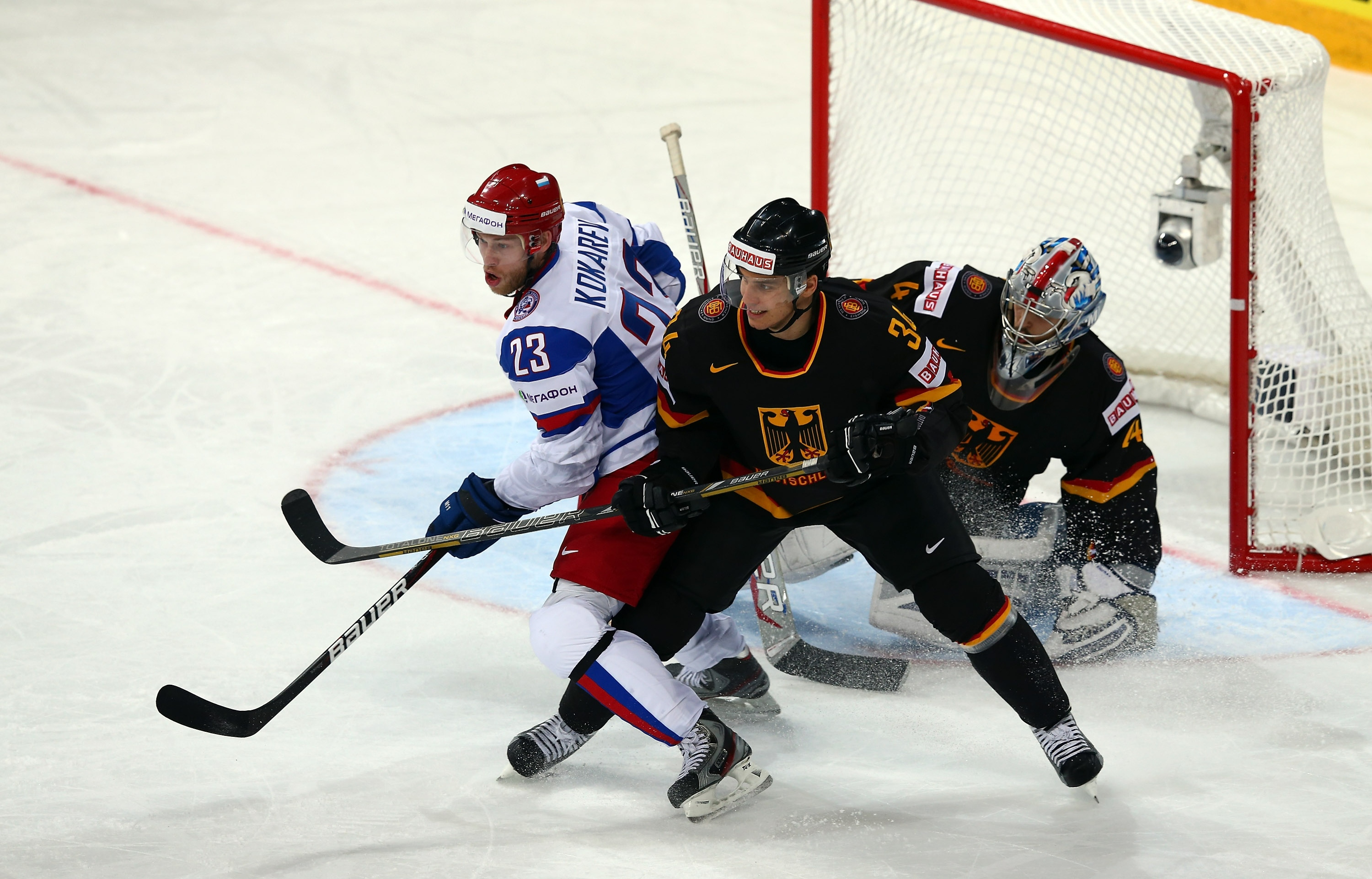 Germany v Russia - 2013 IIHF Ice Hockey World Championship