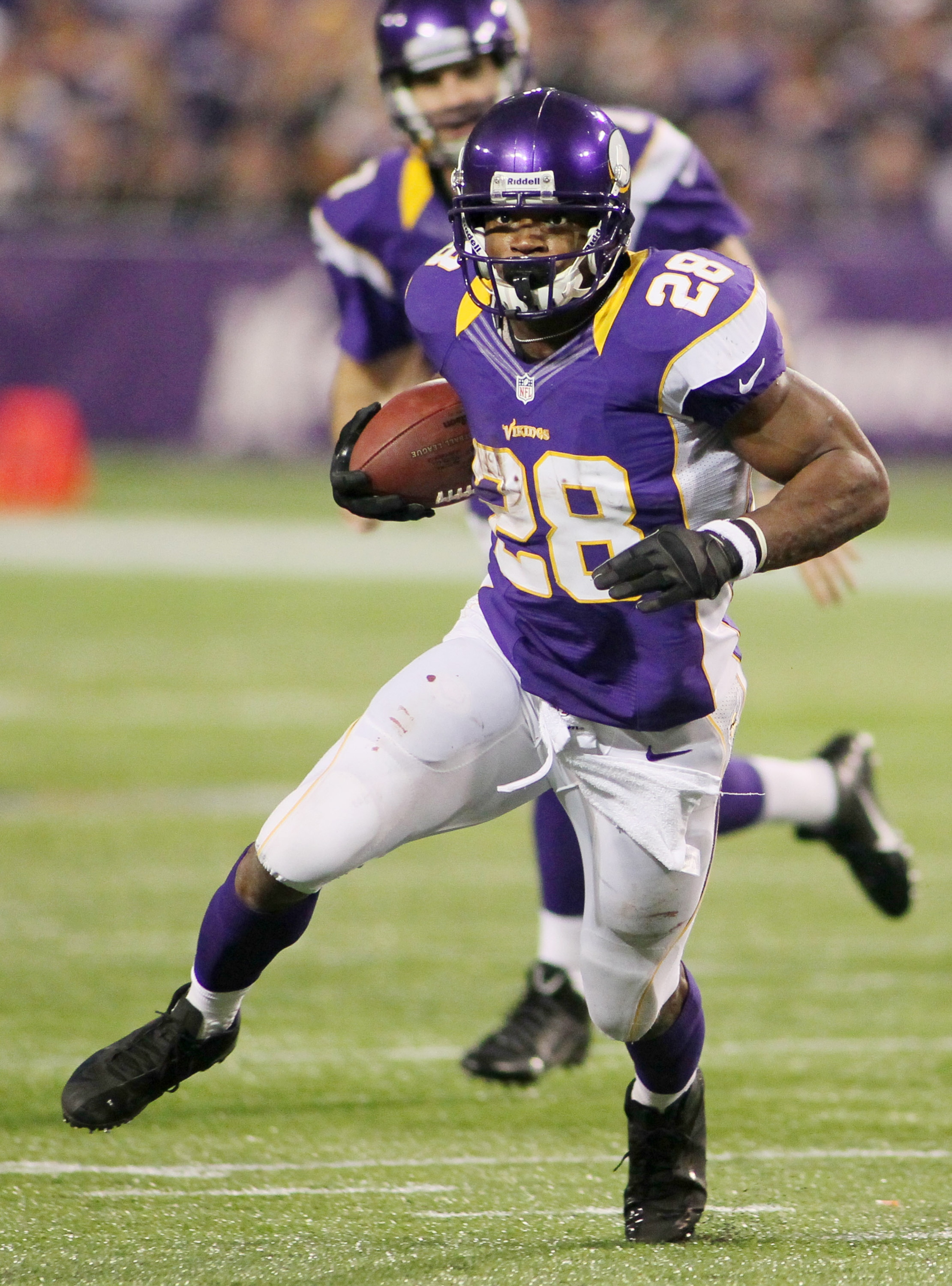 Adrian Peterson was at his best in two games against the Packers. (Getty Images)