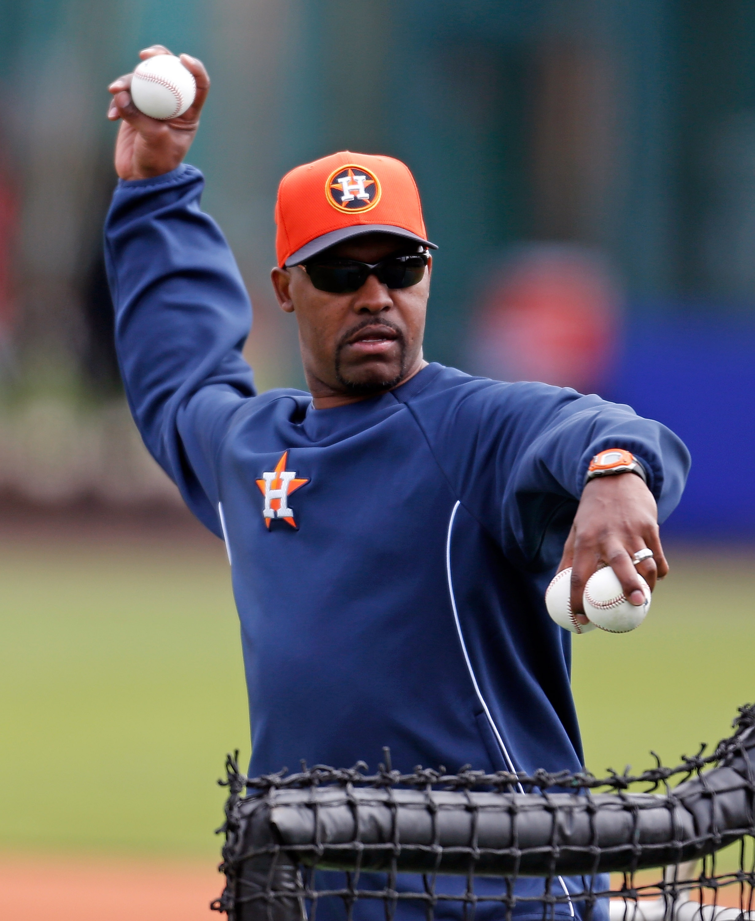 Manager Bo Porter says just about every player in uniform has a shot at cracking the Astros' big league roster. (Getty Images)