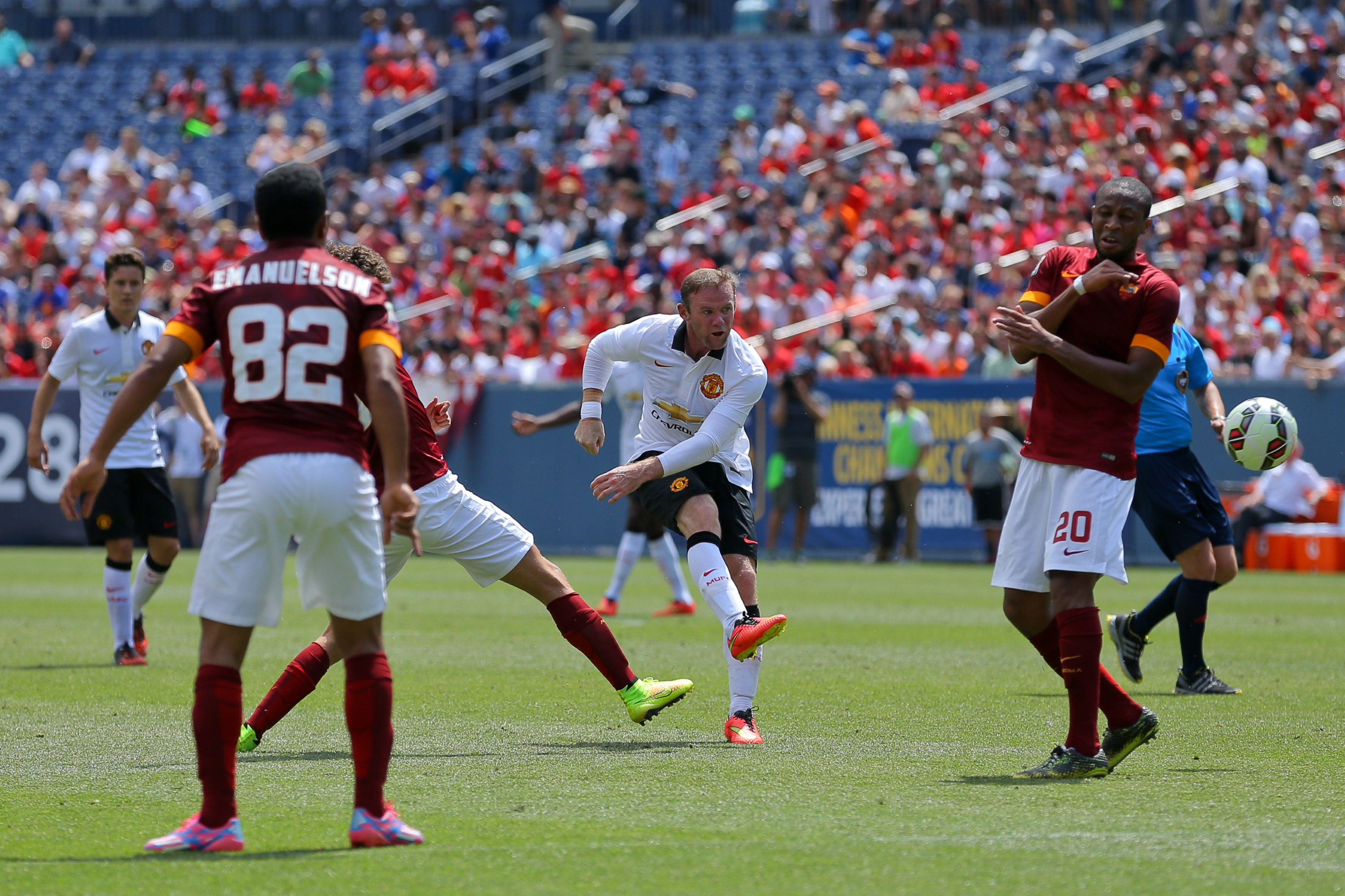 International Champions Cup 2014 - AS Roma v Manchester United