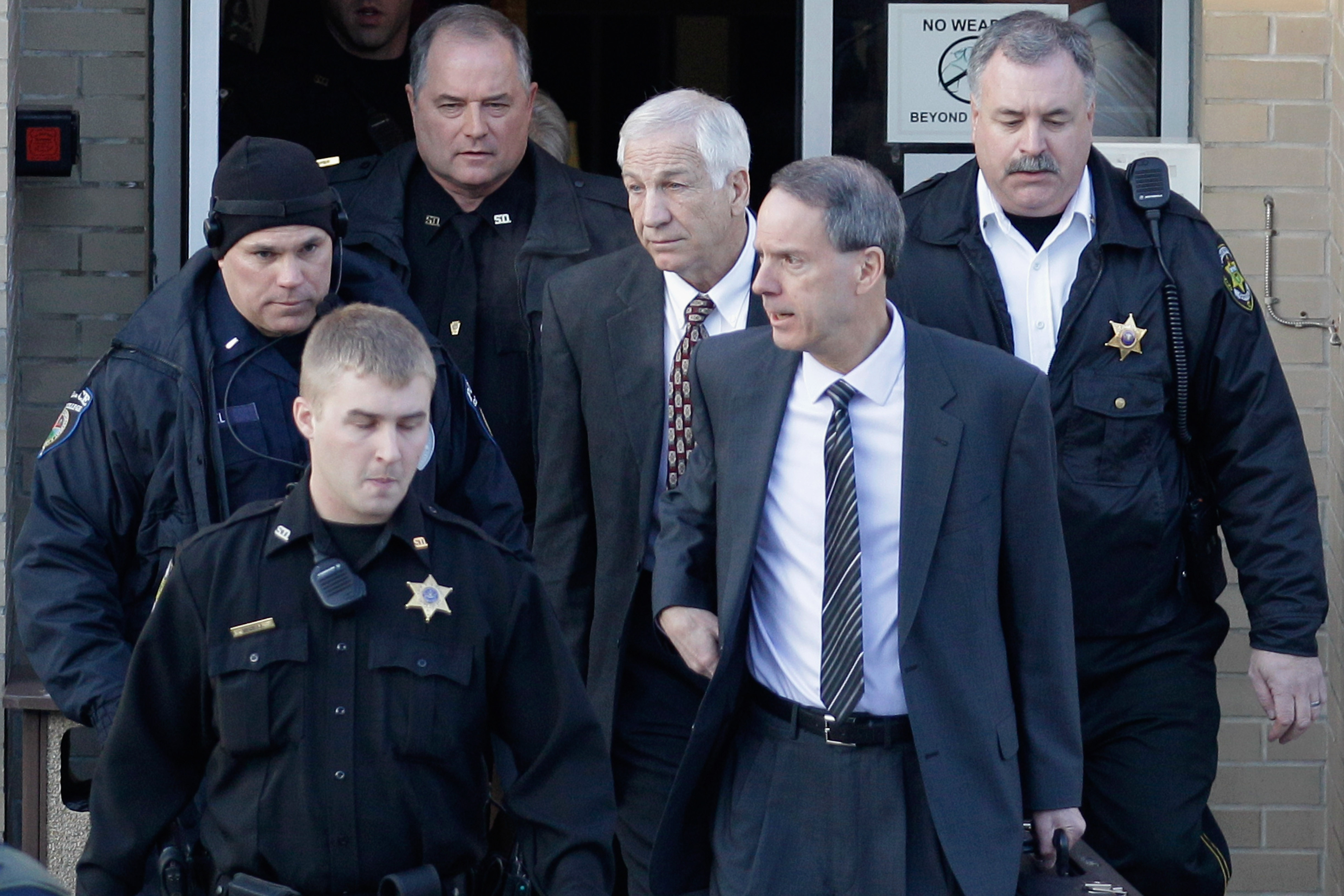 The trial for former Penn State assistant football coach Jerry Sandusky begins Tuesday. (Getty Images)