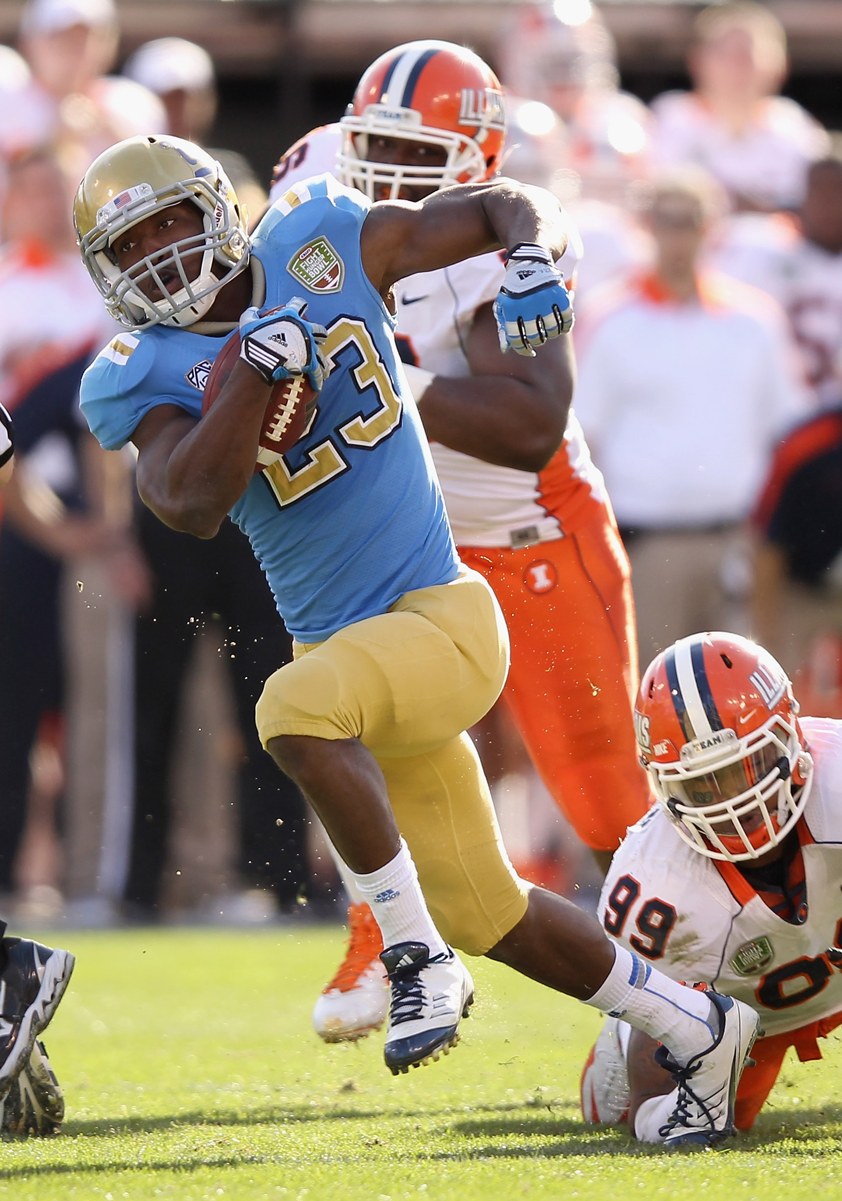 Johnathan Franklin should be the focal point of UCLA's offense. (Getty Images)