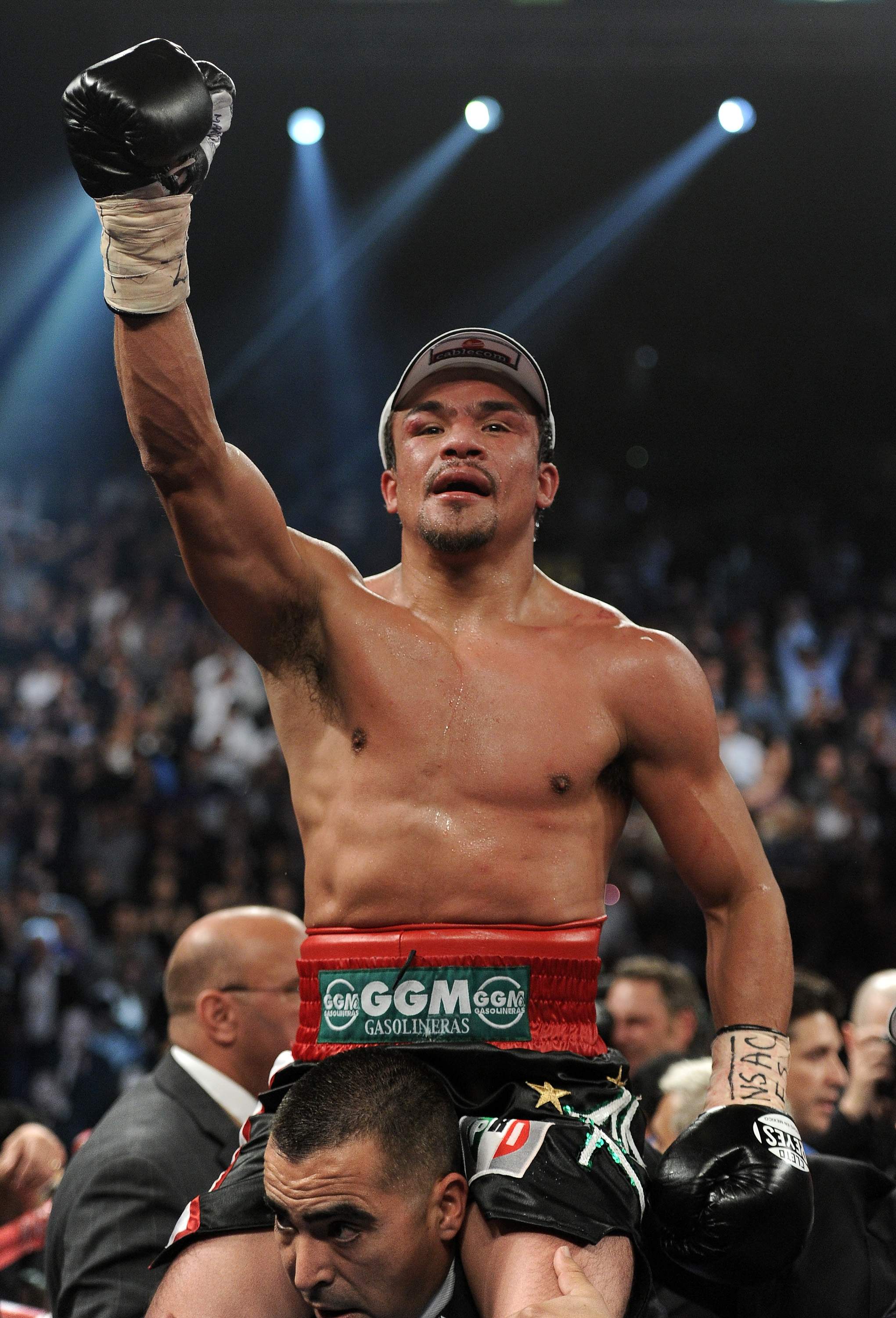 Juan Manuel Marquez would love a fourth shot at Manny Pacquiao. (Getty Images)