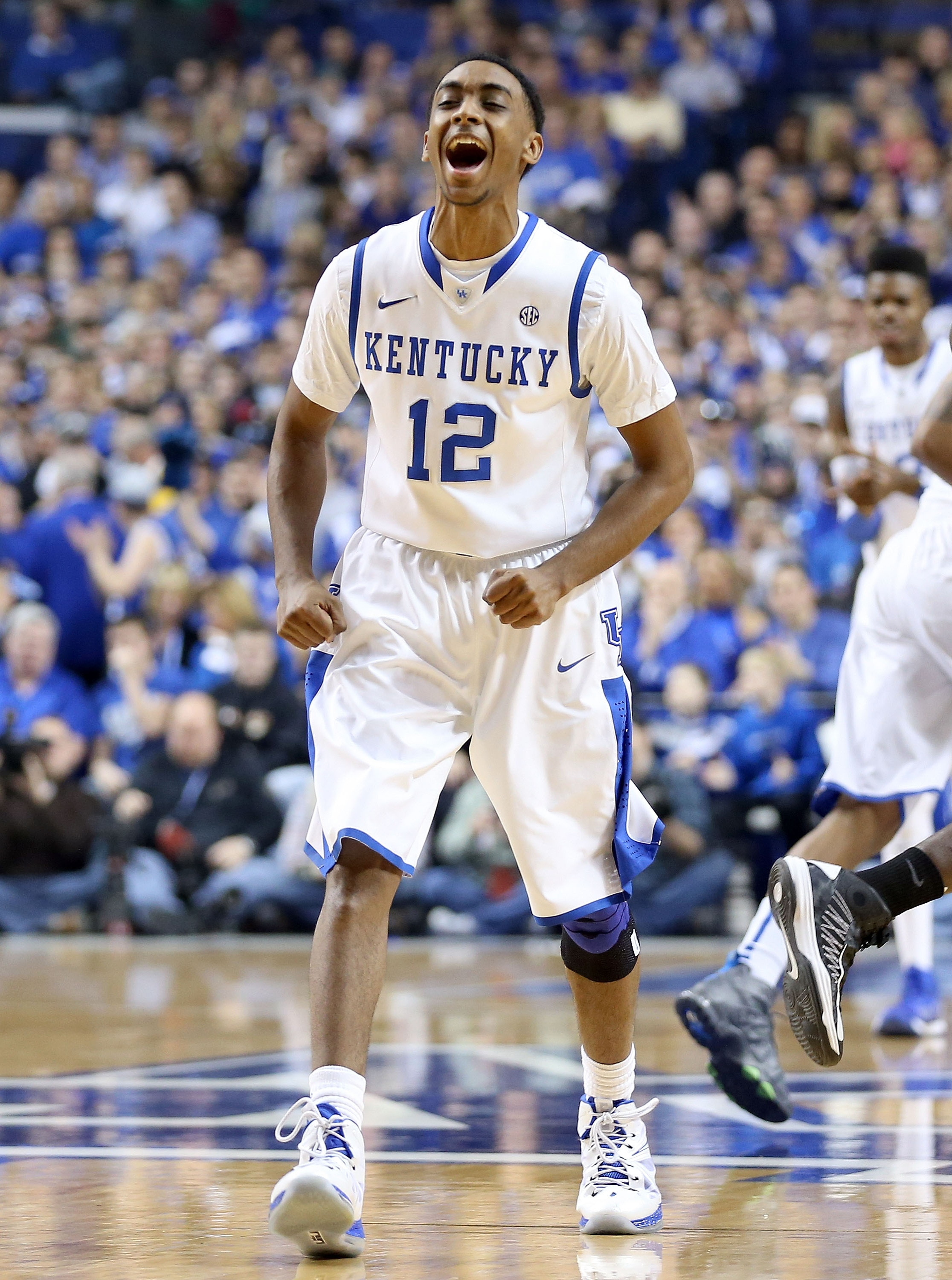 Ryan Harrow and the Wildcats hope to have more to shout about later in the season. (Getty Images)