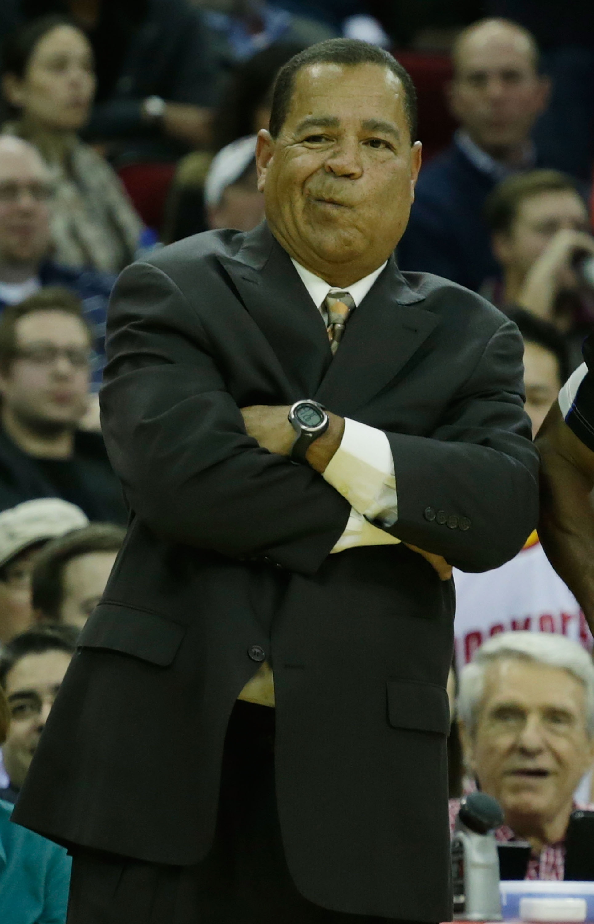 Kelvin Sampson coached the Rockets during Kevin McHale's leave from the team. (Getty Images)