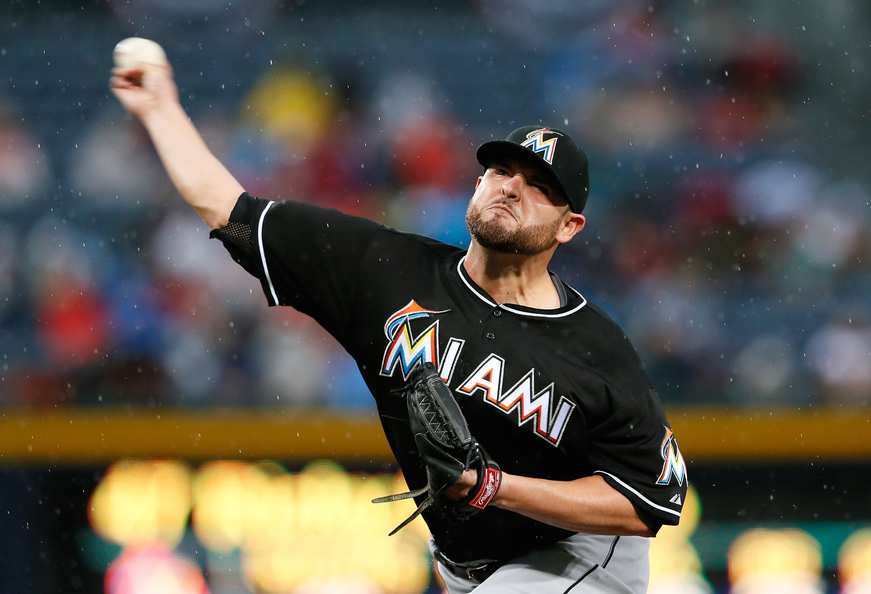 Right-hander Ricky Nolasco hasn't received much run support from the Marlins. (Getty Images)
