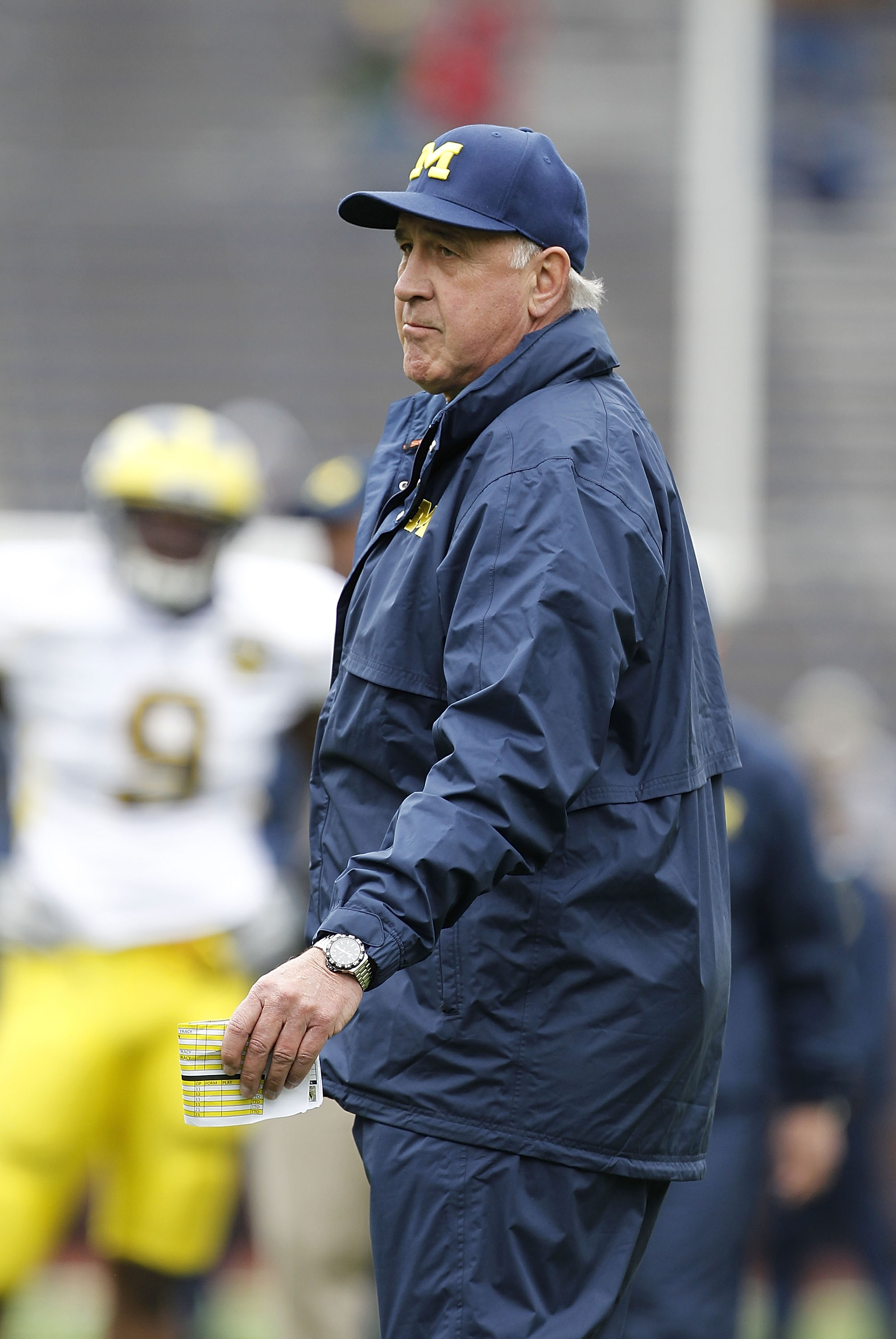 Greg Mattison oversaw phenomenal defensive improvement at Michigan last season. (Getty Images)