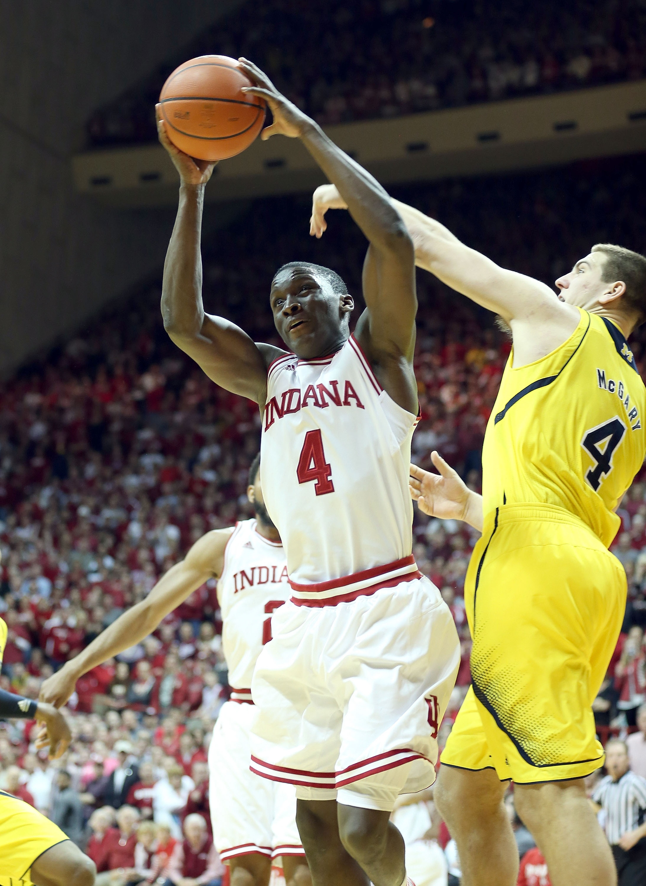 Victor Oladipo had 15 points in Indiana's victory over Michigan. (Getty Images)