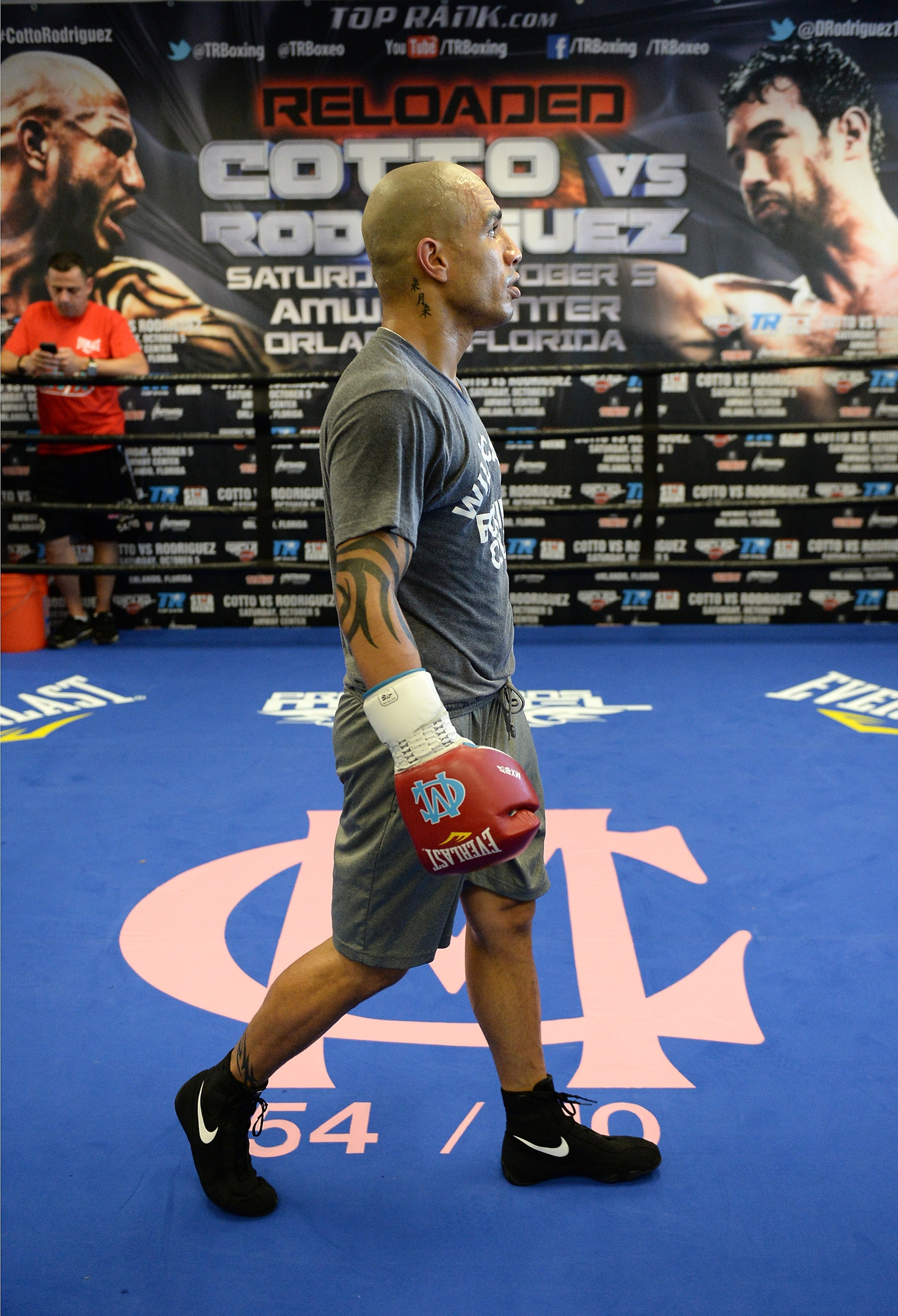 Miguel Cotto will fight Rodriguez in Orlando, Fla. (Getty Images)