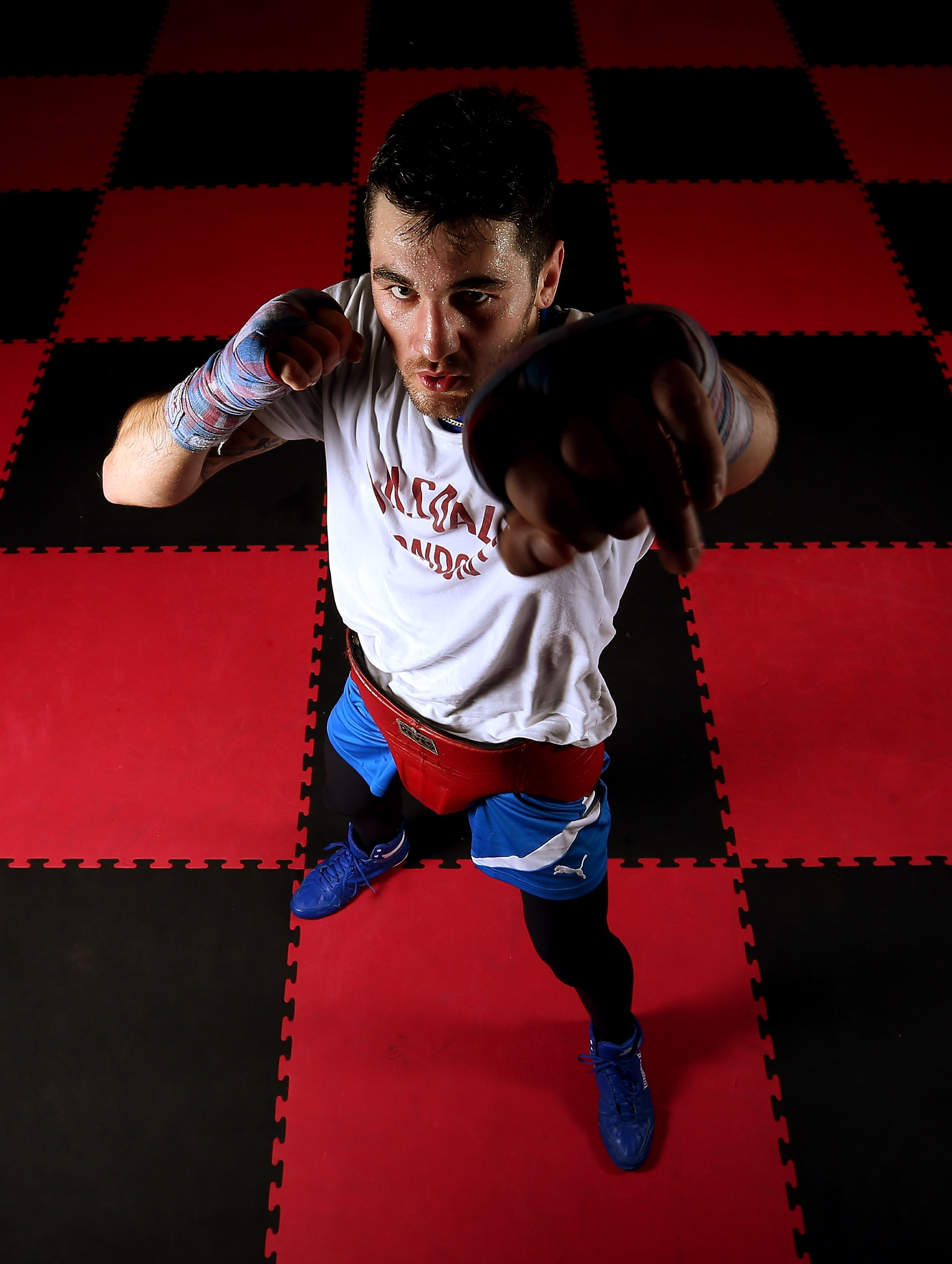 Nathan Cleverly Media Work Out