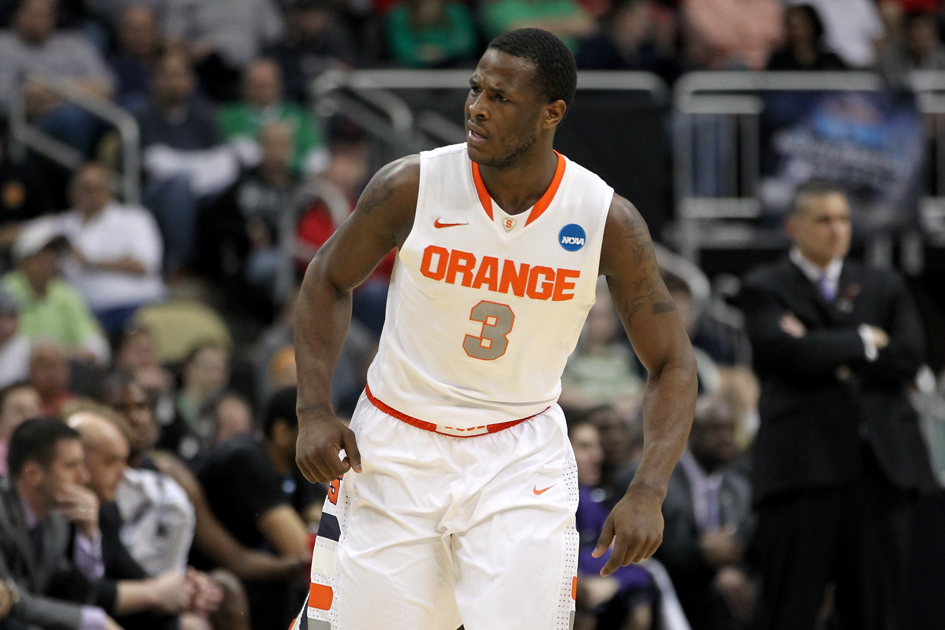 Syracuse's Dion Waiters has quickly climbed into the top half of the draft lottery. (Getty Images)